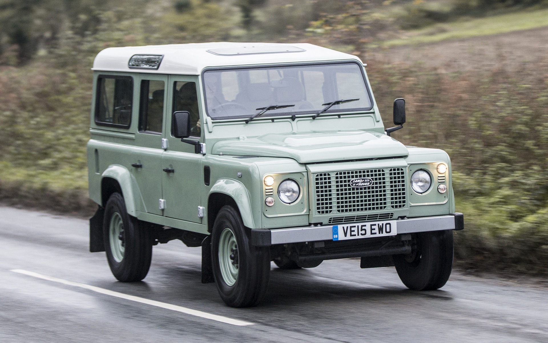 Land Rover Defender 110 Heritage (2015) UK Wallpapers and ...