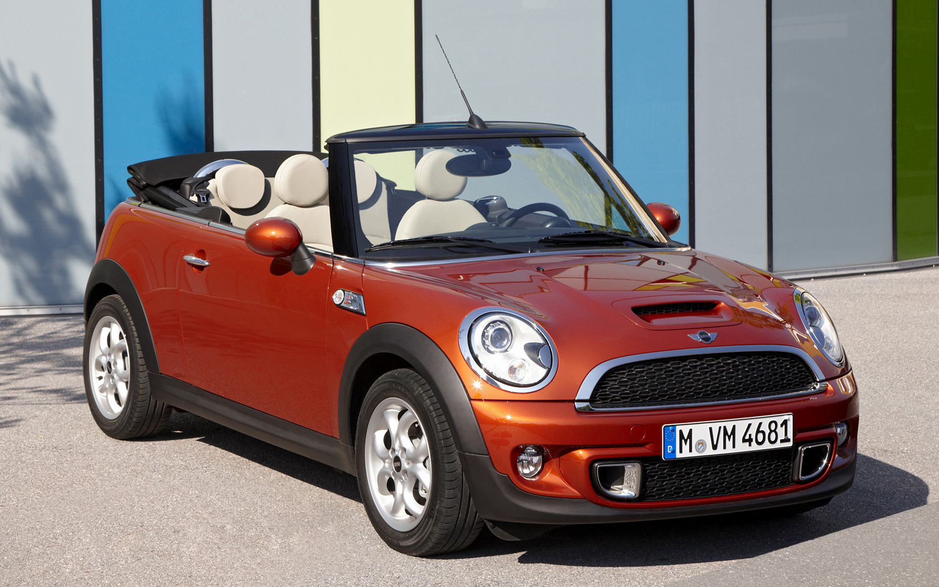 mini cooper s cabrio 2010 wallpapers and hd images car. Black Bedroom Furniture Sets. Home Design Ideas