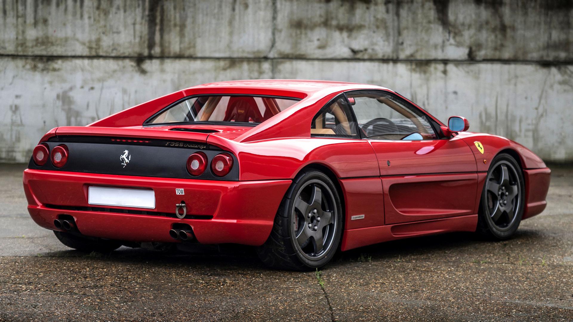1995 Ferrari F355 Challenge Rhd Hintergrundbilder Und Wallpaper In Hd Car Pixel
