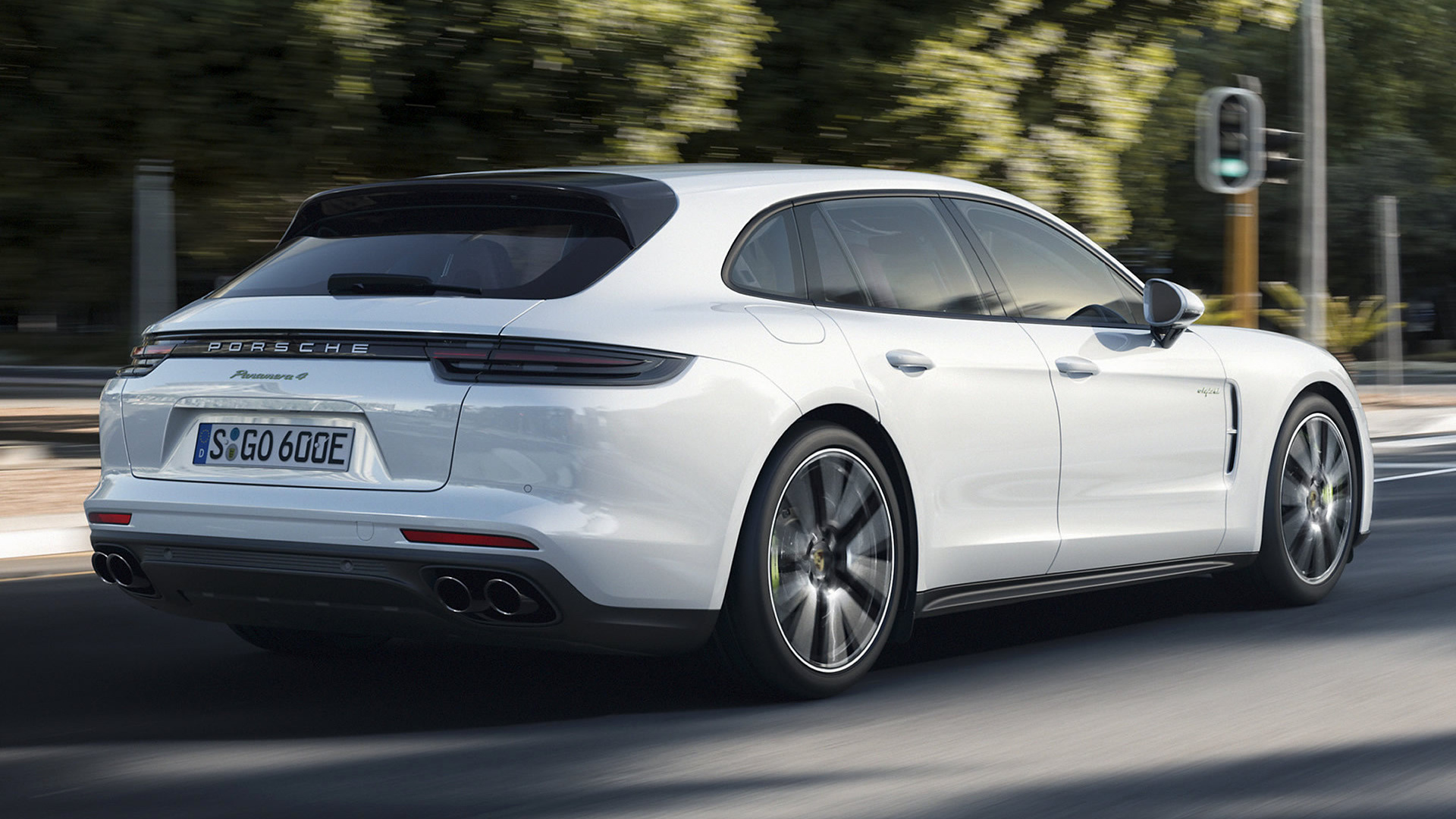 porsche panamera e-hybrid sport turismo  2017  wallpapers and hd images