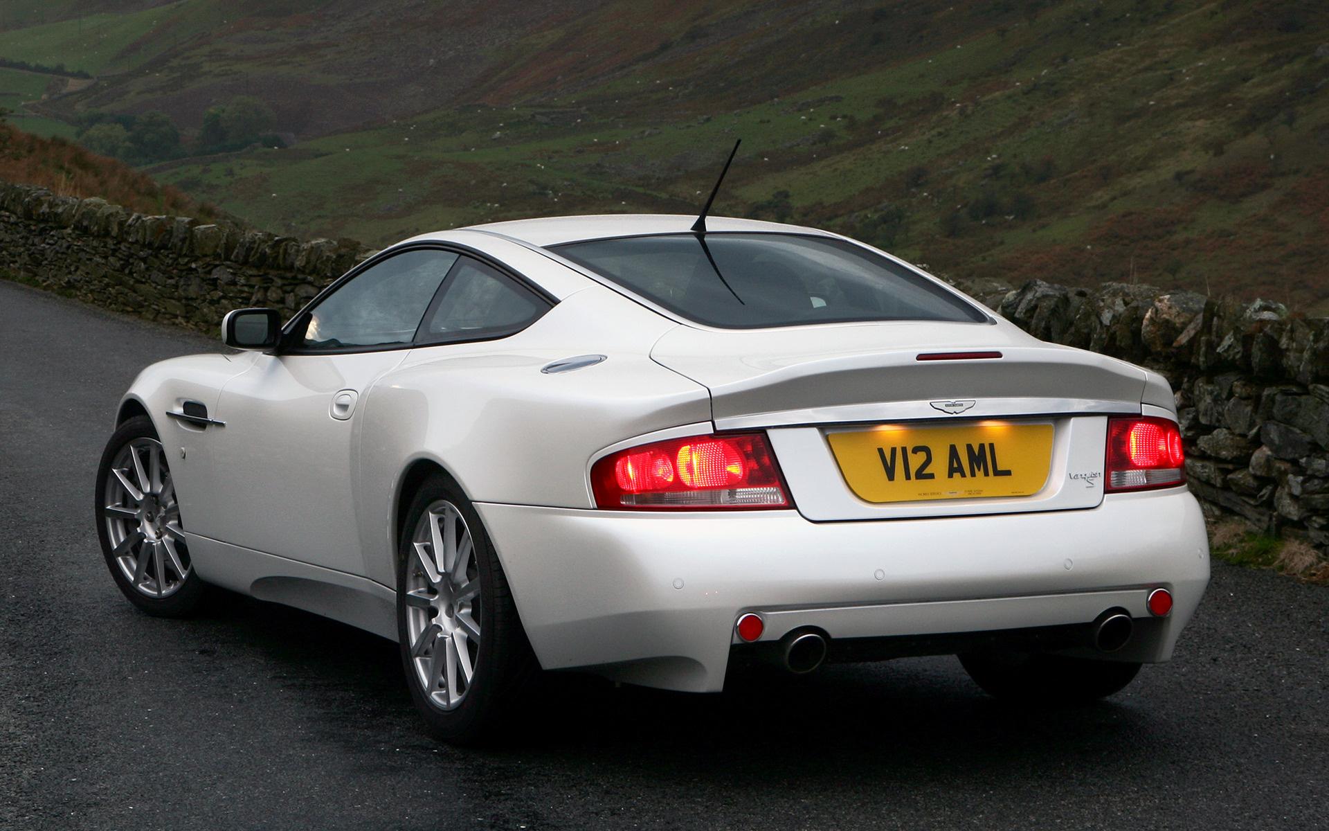 2004 Aston Martin Vanquish S Uk Wallpapers And Hd Images Car Pixel