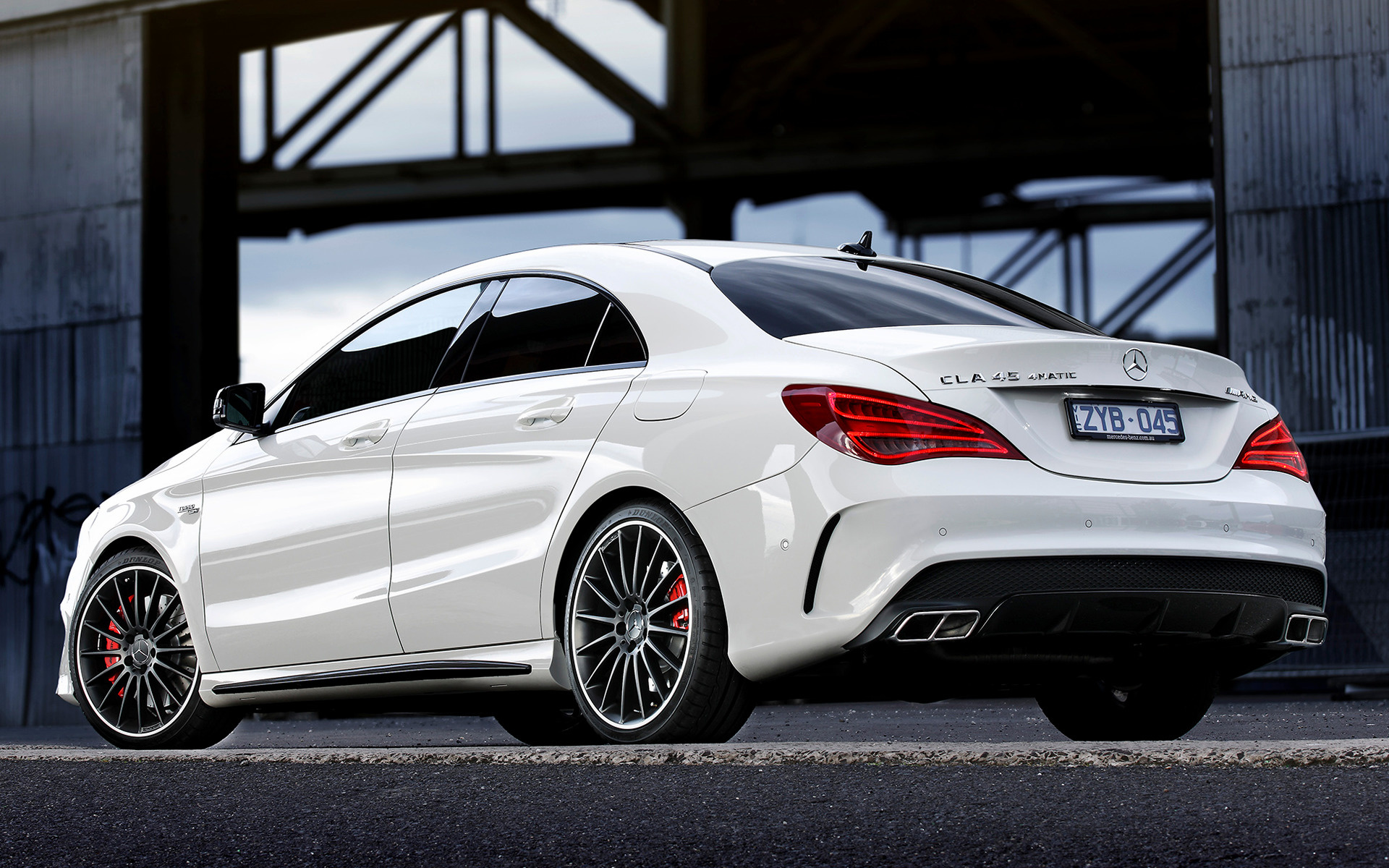 Mercedes Benz Cla >> 2013 Mercedes-Benz CLA 45 AMG (AU) - Wallpapers and HD Images | Car Pixel