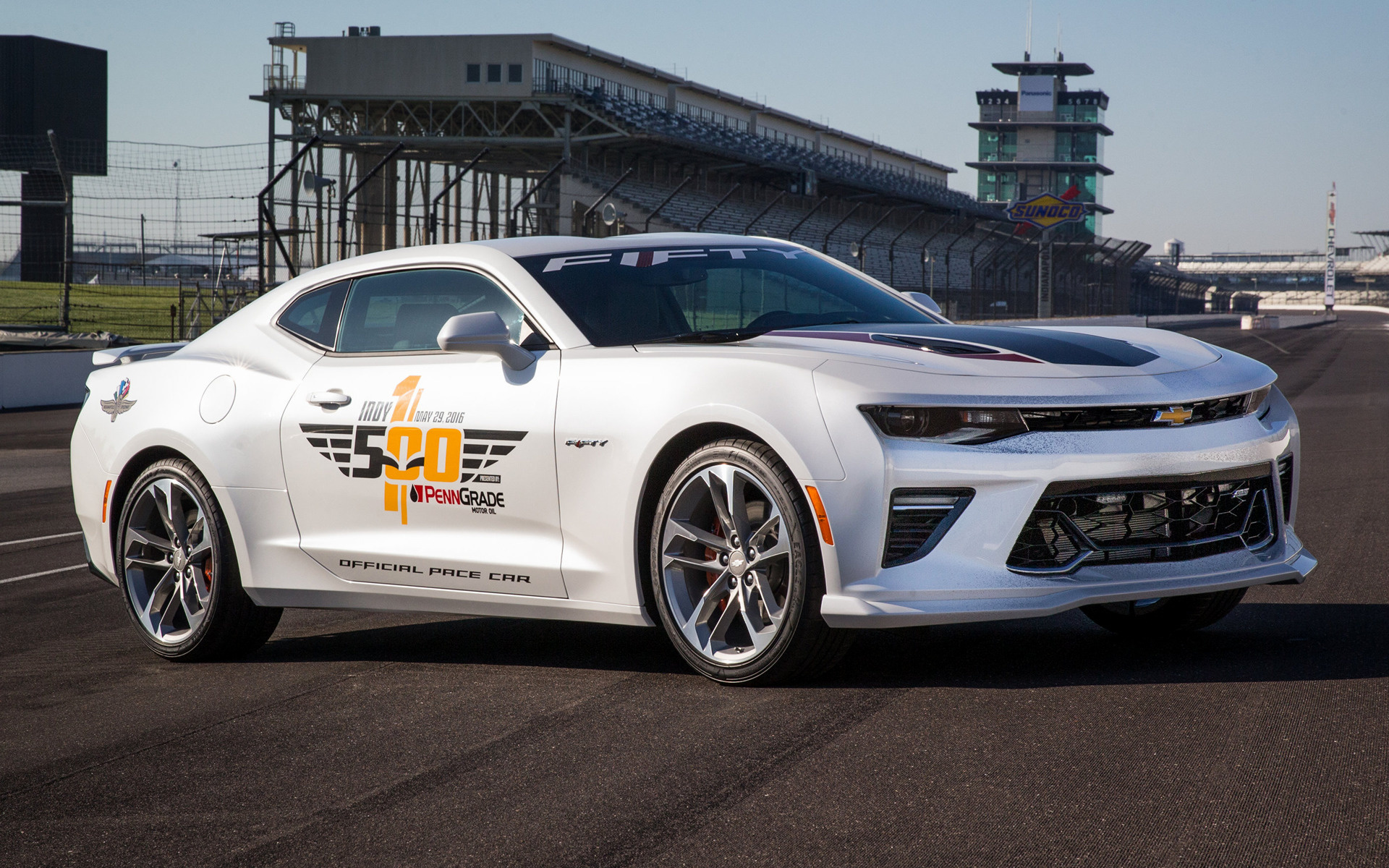 Chevrolet camaro ss indy 500 pace car 2016 wallpapers and hd wide 85 chevrolet camaro ss indy 500 voltagebd Images