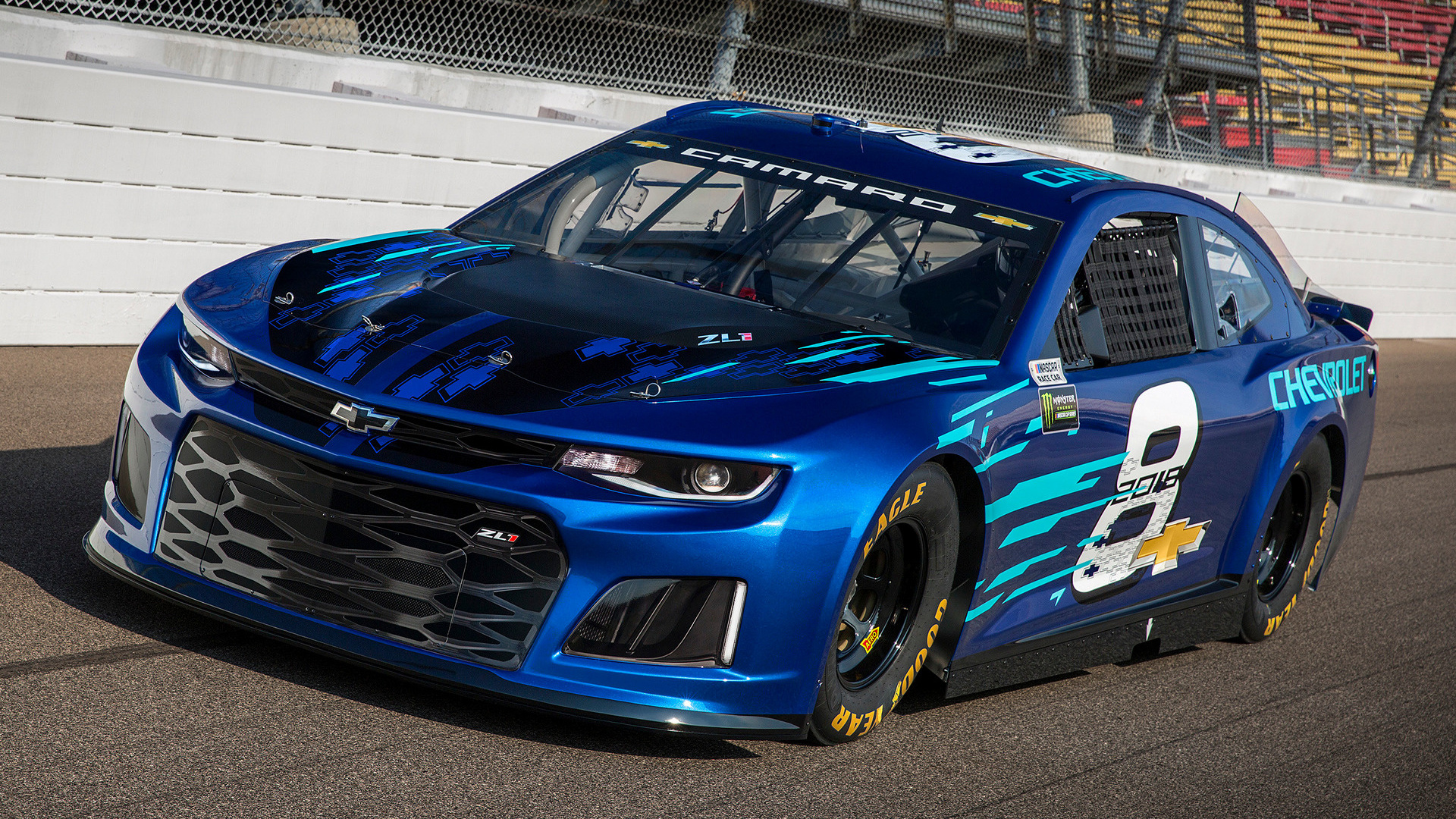 2018 Chevrolet Camaro ZL1 NASCAR Cup Series - Wallpapers ...