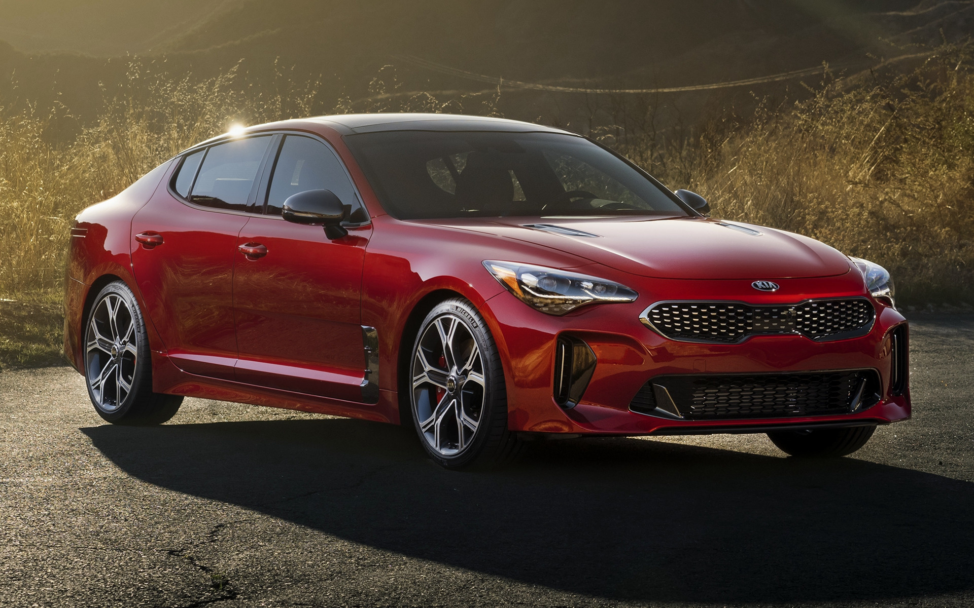 2018 Kia Stinger GT (US) - Wallpapers and HD Images | Car ...