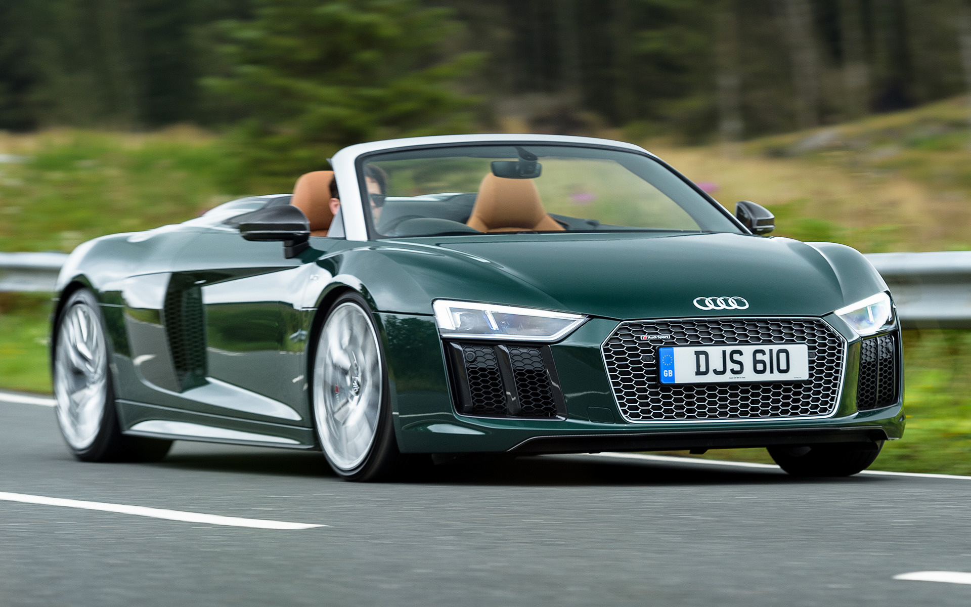 Porsche Parts Uk >> 2017 Audi R8 Spyder Plus (UK) - Wallpapers and HD Images ...