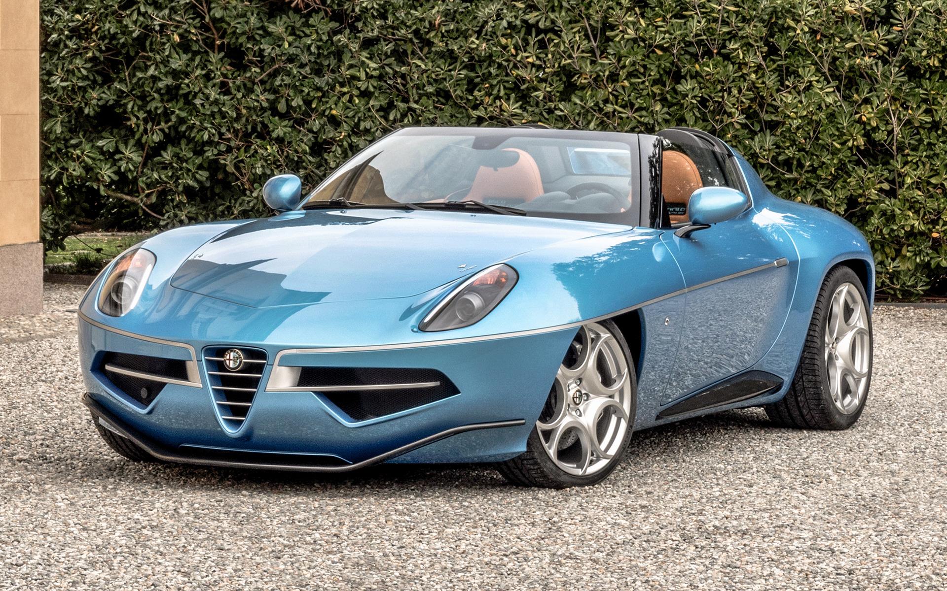 2016 Alfa Romeo Disco Volante Spyder 1 Wallpapers And