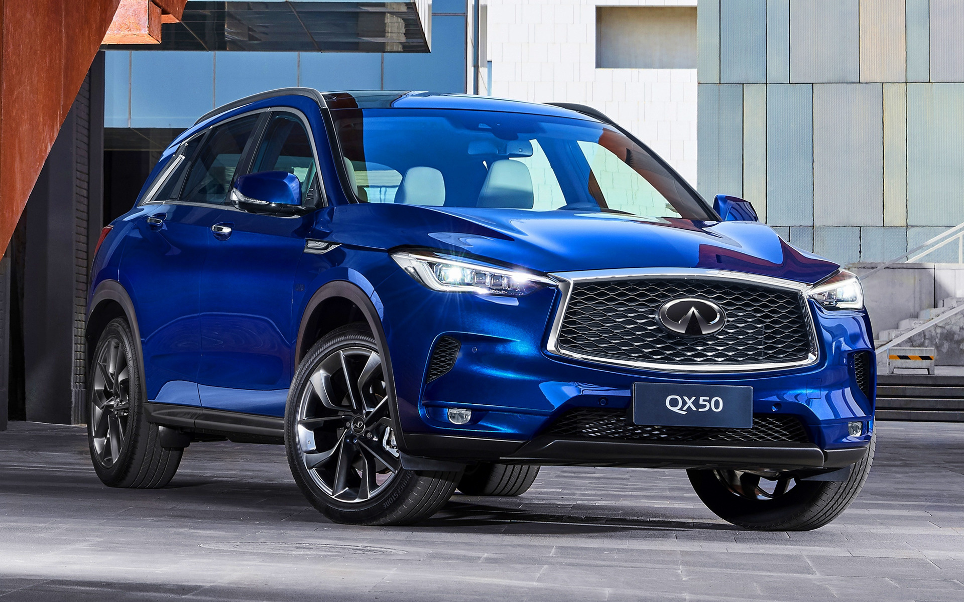 2019 Infiniti Qx50 Cn Wallpapers And Hd Images Car Pixel