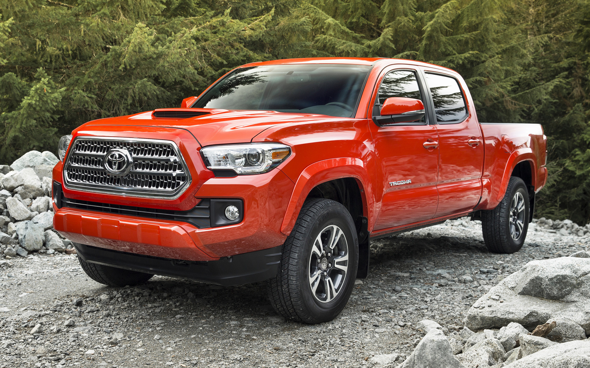 2016 Toyota Tacoma Trd Sport Double Cab Wallpapers And