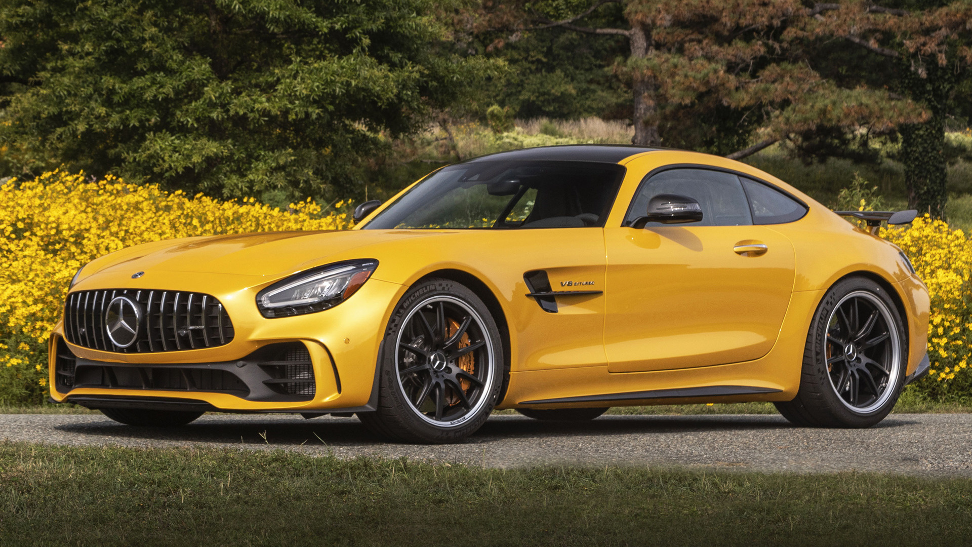 2020 Mercedes Amg Gt R Us Wallpapers And Hd Images Car