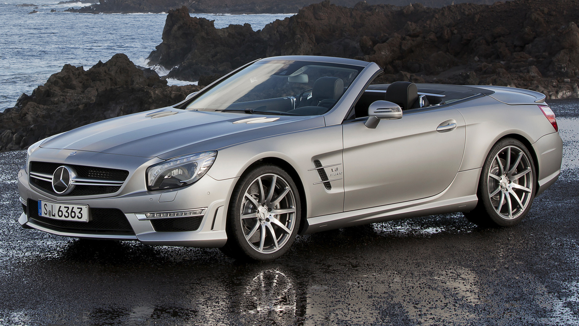 mercedes benz sl 63 amg 2012 wallpapers and hd images. Black Bedroom Furniture Sets. Home Design Ideas