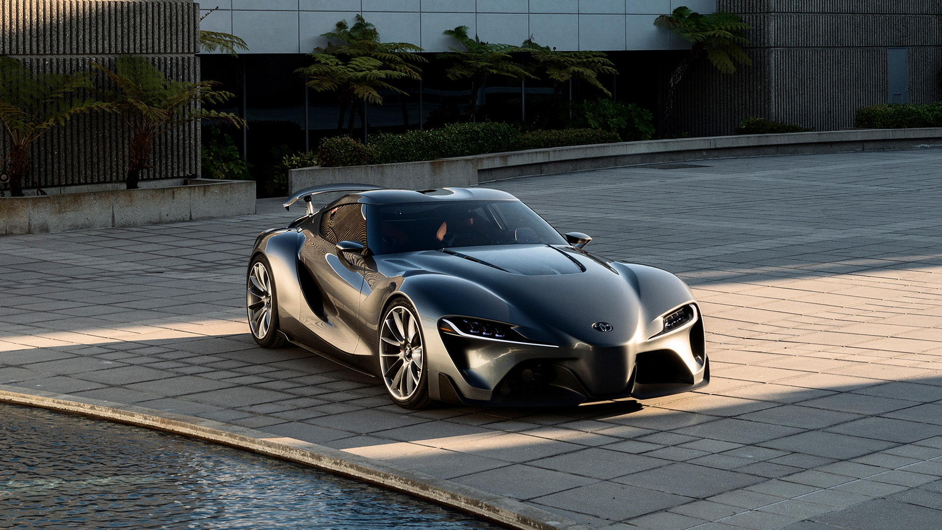 Toyota Ft 1 Graphite Concept 2014 Wallpapers And Hd