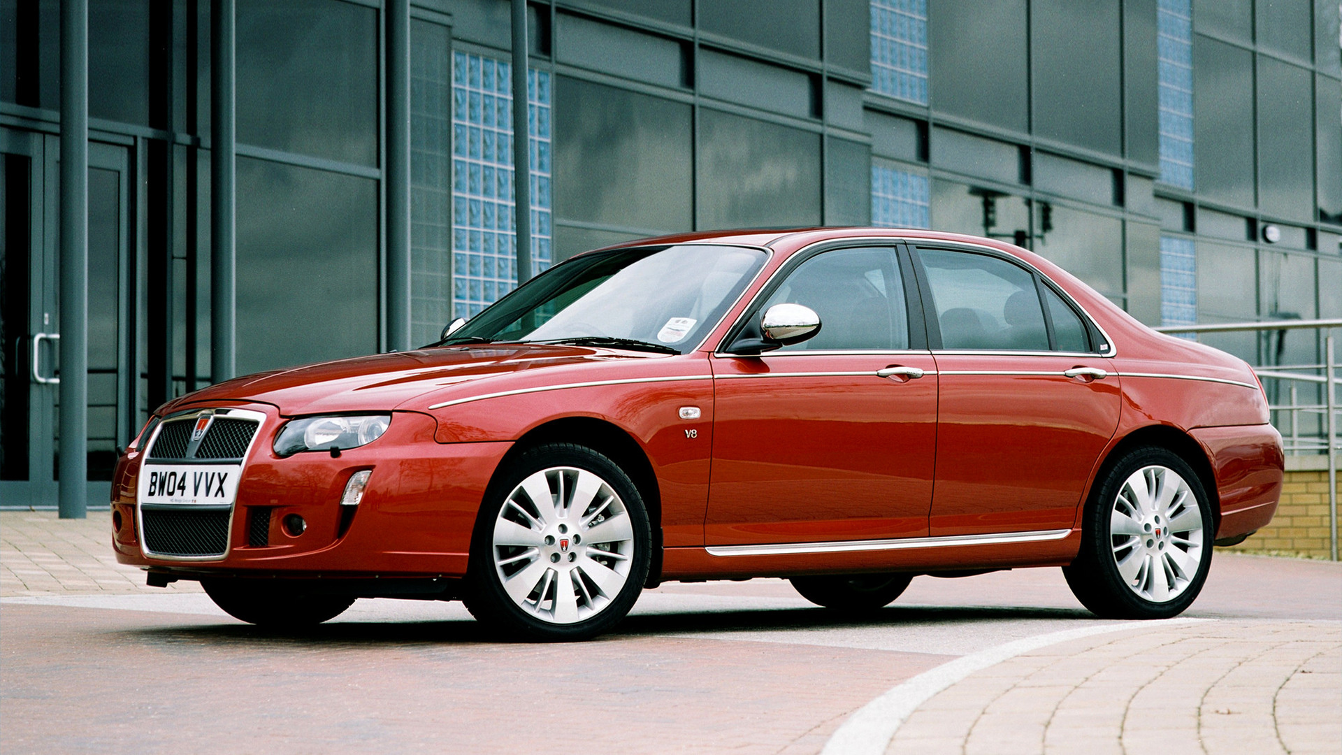 2004 Rover 75 V8 - Wallpapers and HD Images | Car Pixel