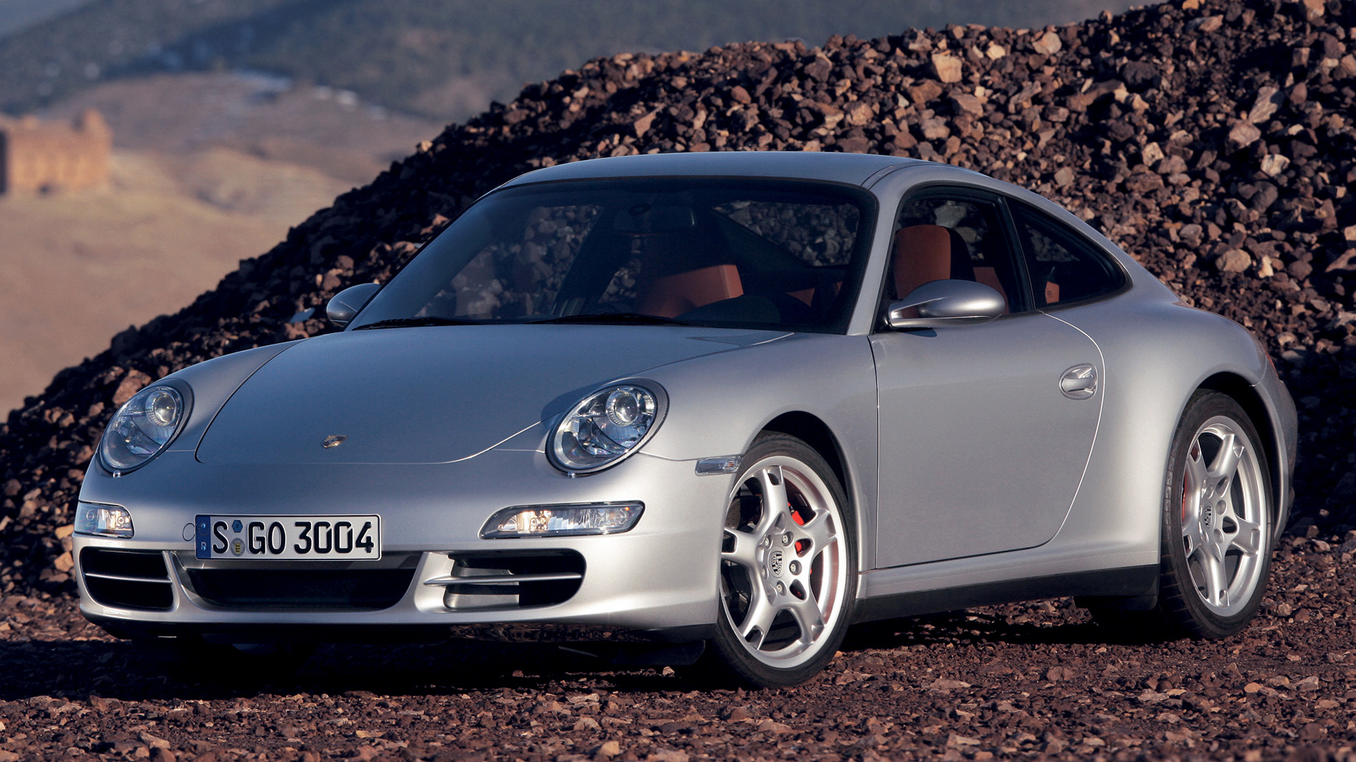 Porsche 911 carrera s 2005 wallpapers and hd images - Porsche 911 carrera s wallpaper ...