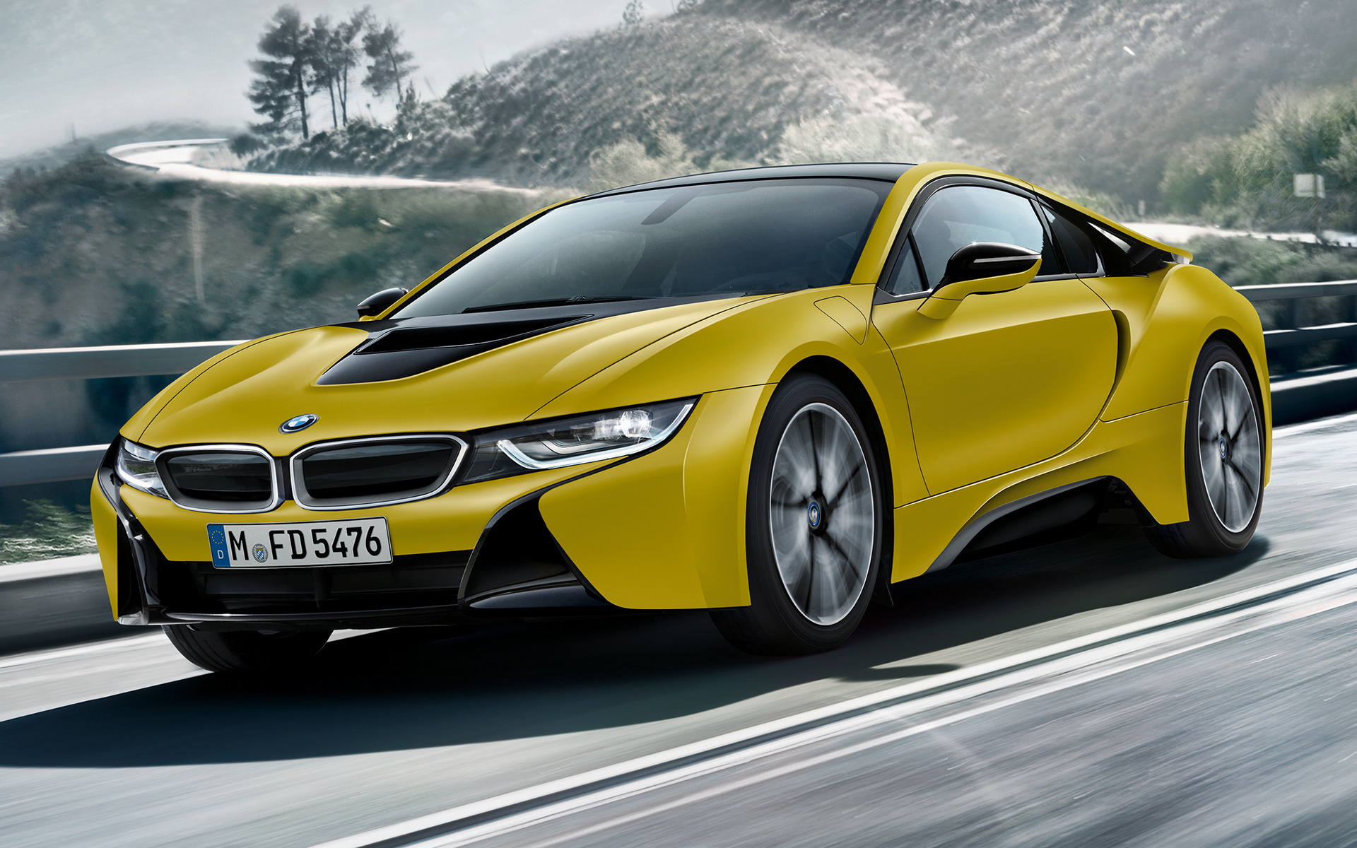 Bmw I8 Protonic Frozen Yellow Edition 2017 Wallpapers And Hd