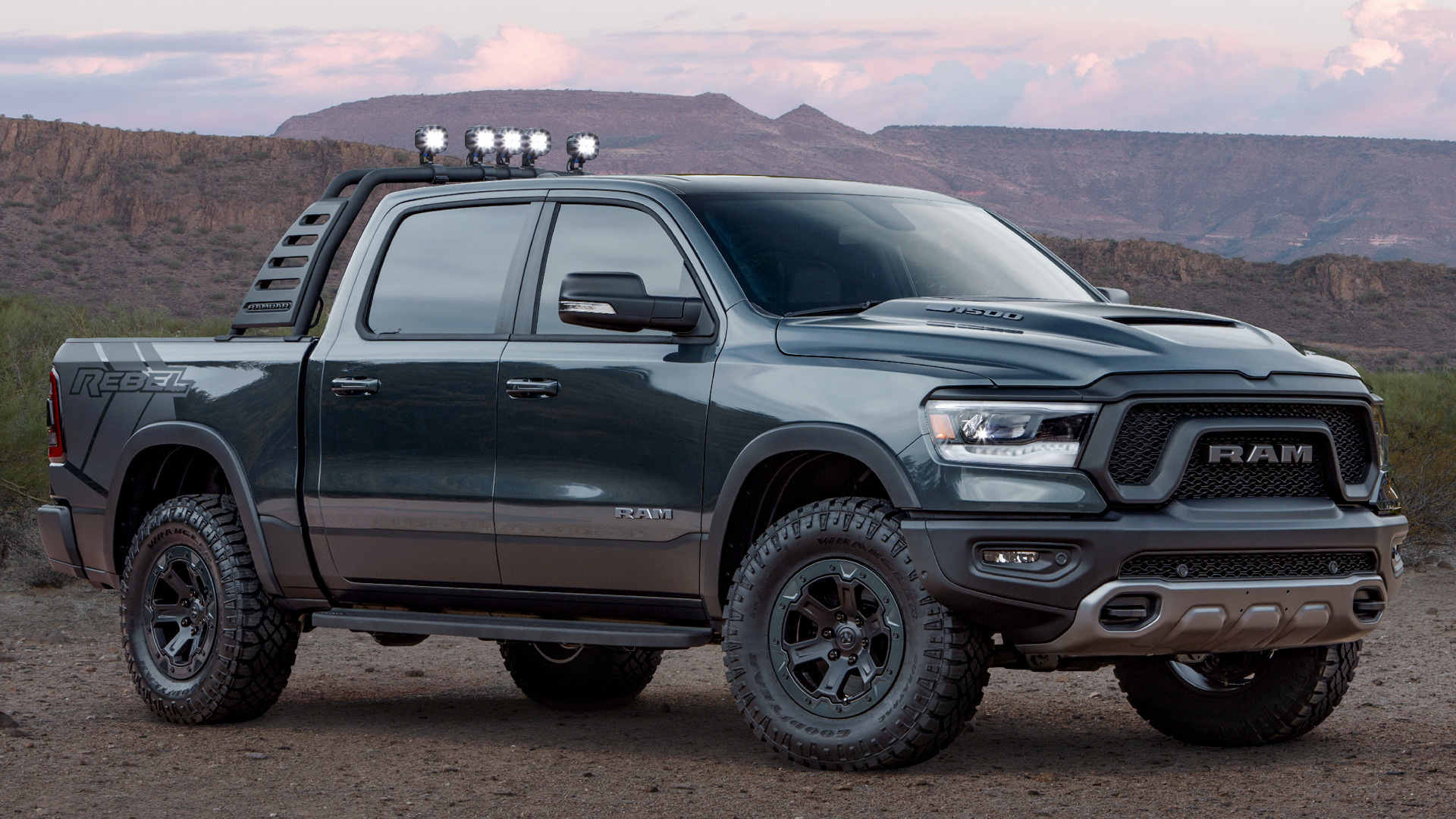 2018 Ram 1500 Rebel Smoke Concept - Wallpapers and HD Images | Car Pixel