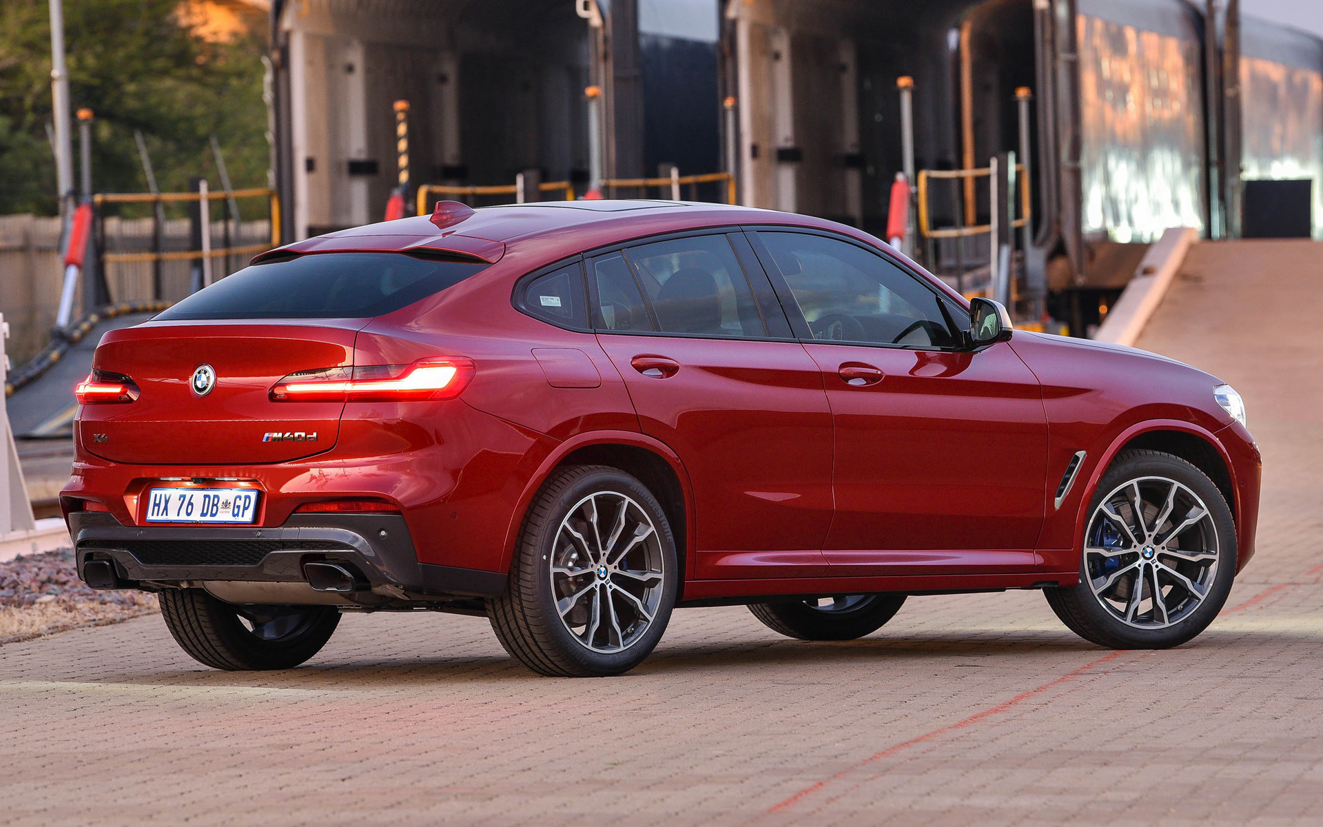 2019 Bmw X4 M40d Za Wallpapers And Hd Images Car Pixel