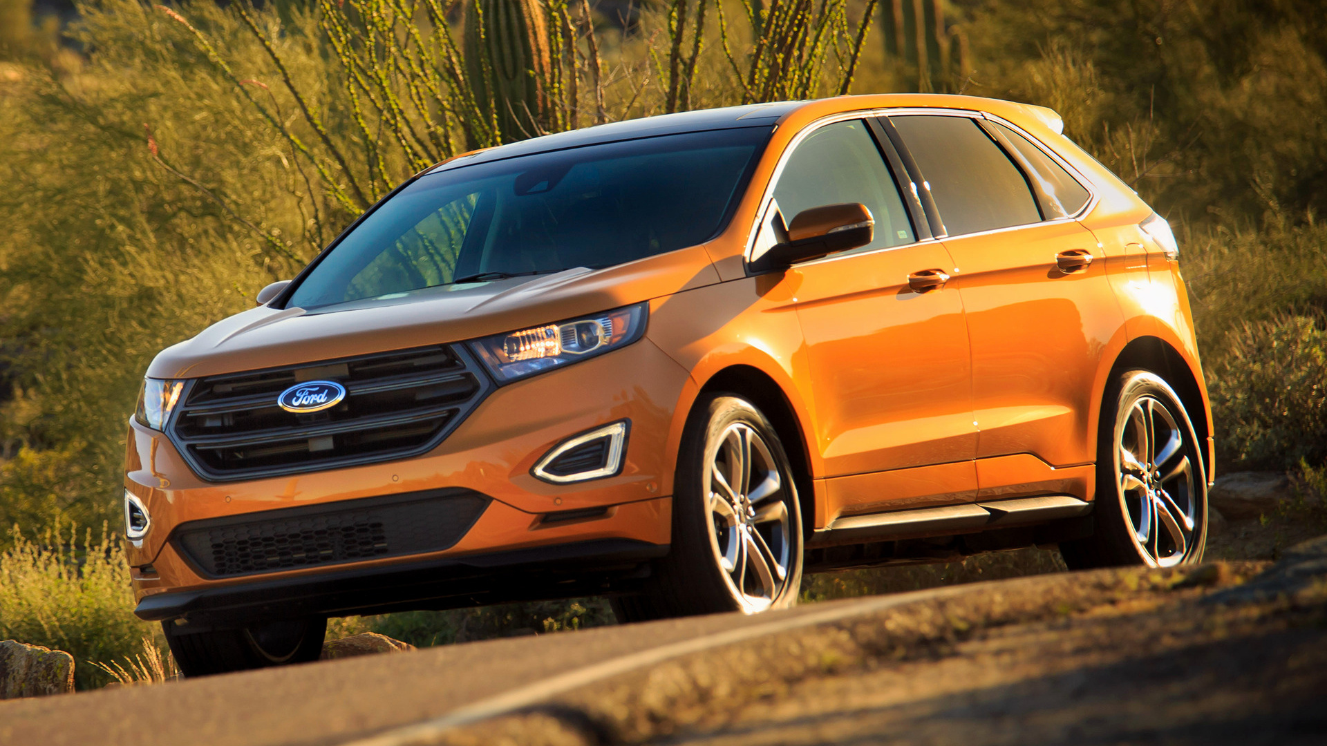 2015 Ford Edge Sport Wallpapers And Hd Images Car Pixel