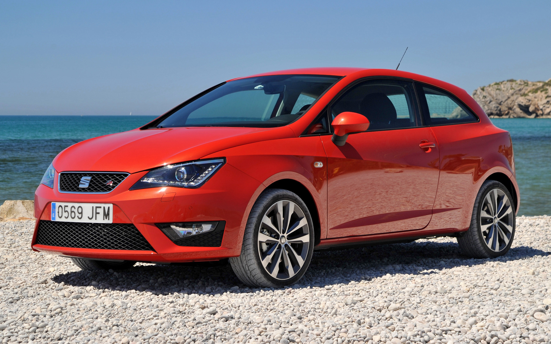 Seat Ibiza Sc Fr 2015 Wallpapers And Hd Images Car Pixel