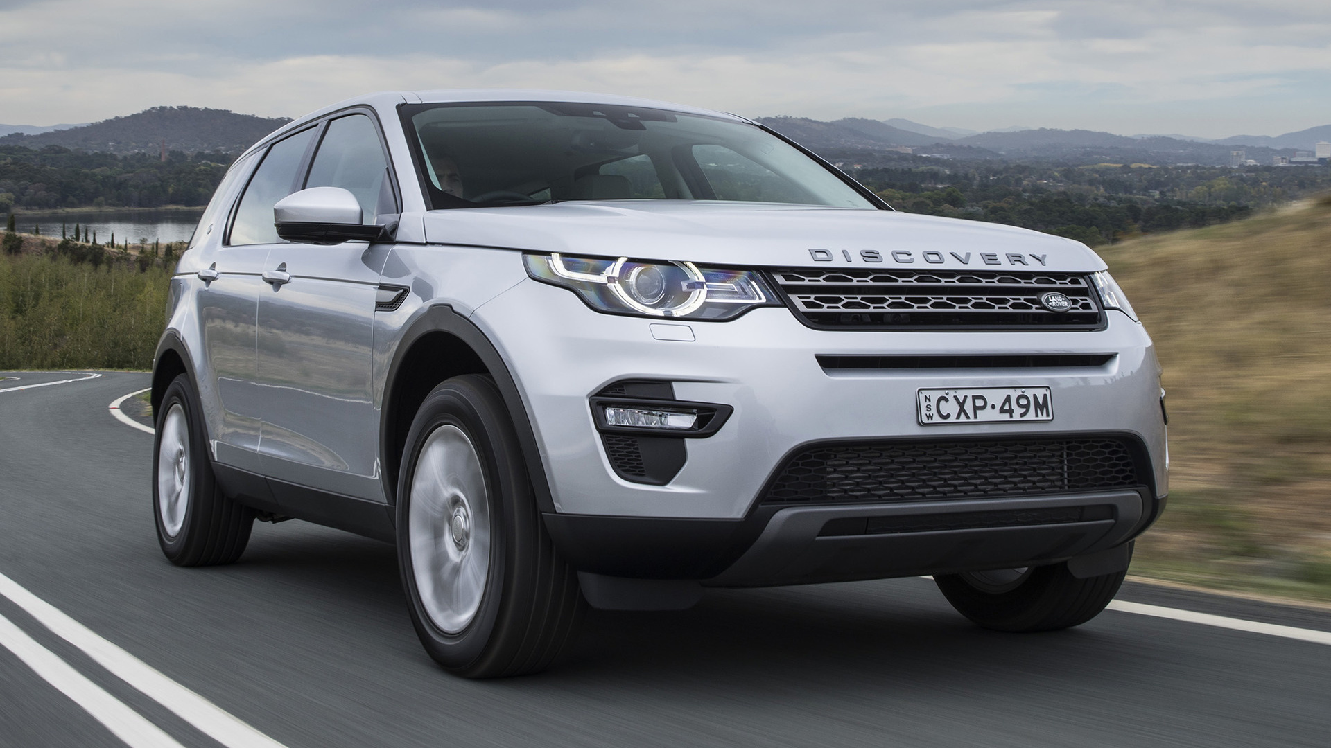 Wallpaper Land Rover Discovery Sport: 2015 Land Rover Discovery Sport SE (AU)