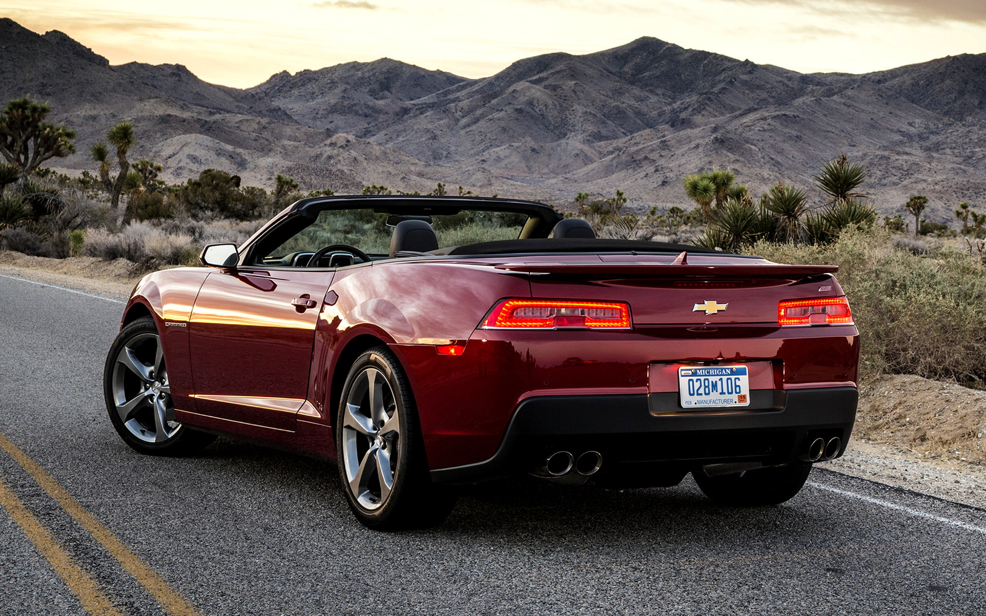 2014 Chevrolet Camaro Ss Convertible Wallpapers And Hd