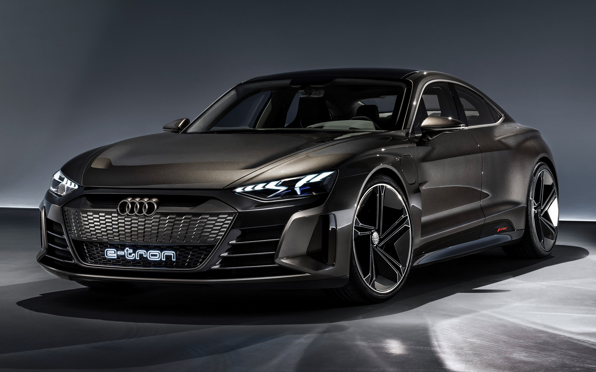 2018 Audi E-Tron GT concept - Wallpapers and HD Images ...