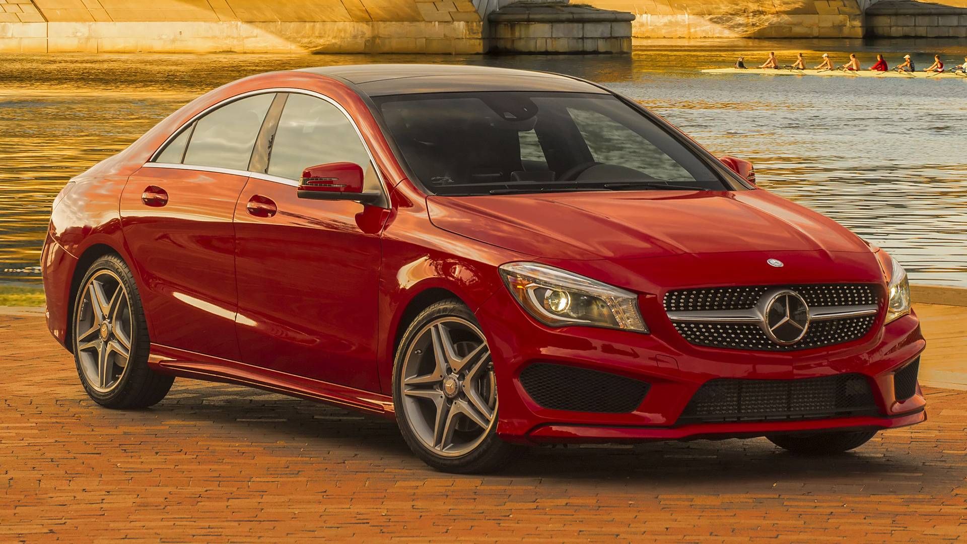 2014 mercedes benz cla class amg styling us wallpapers and hd images car pixel. Black Bedroom Furniture Sets. Home Design Ideas