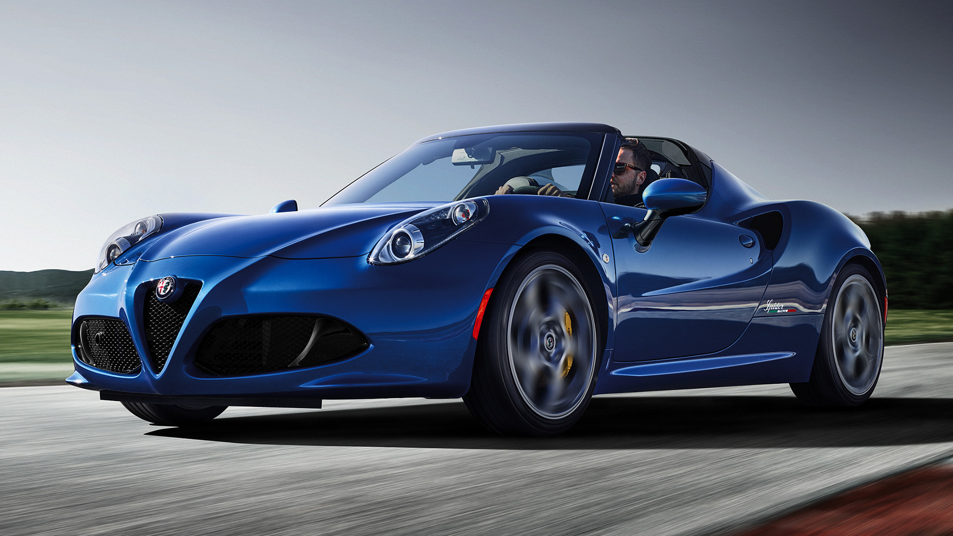 2018 Alfa Romeo 4C Spider Italia - Wallpapers and HD Images | Car Pixel