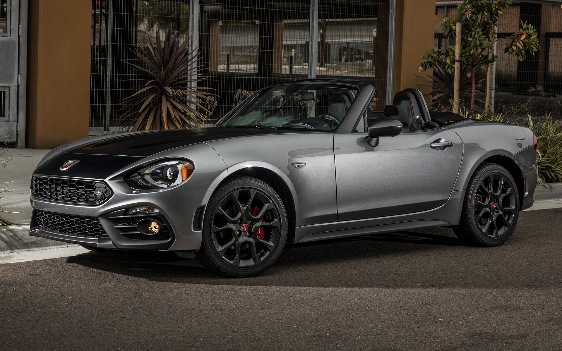 2016 Hyundai Genesis Coupe >> Fiat 124 Spider Abarth (2017) US Wallpapers and HD Images ...