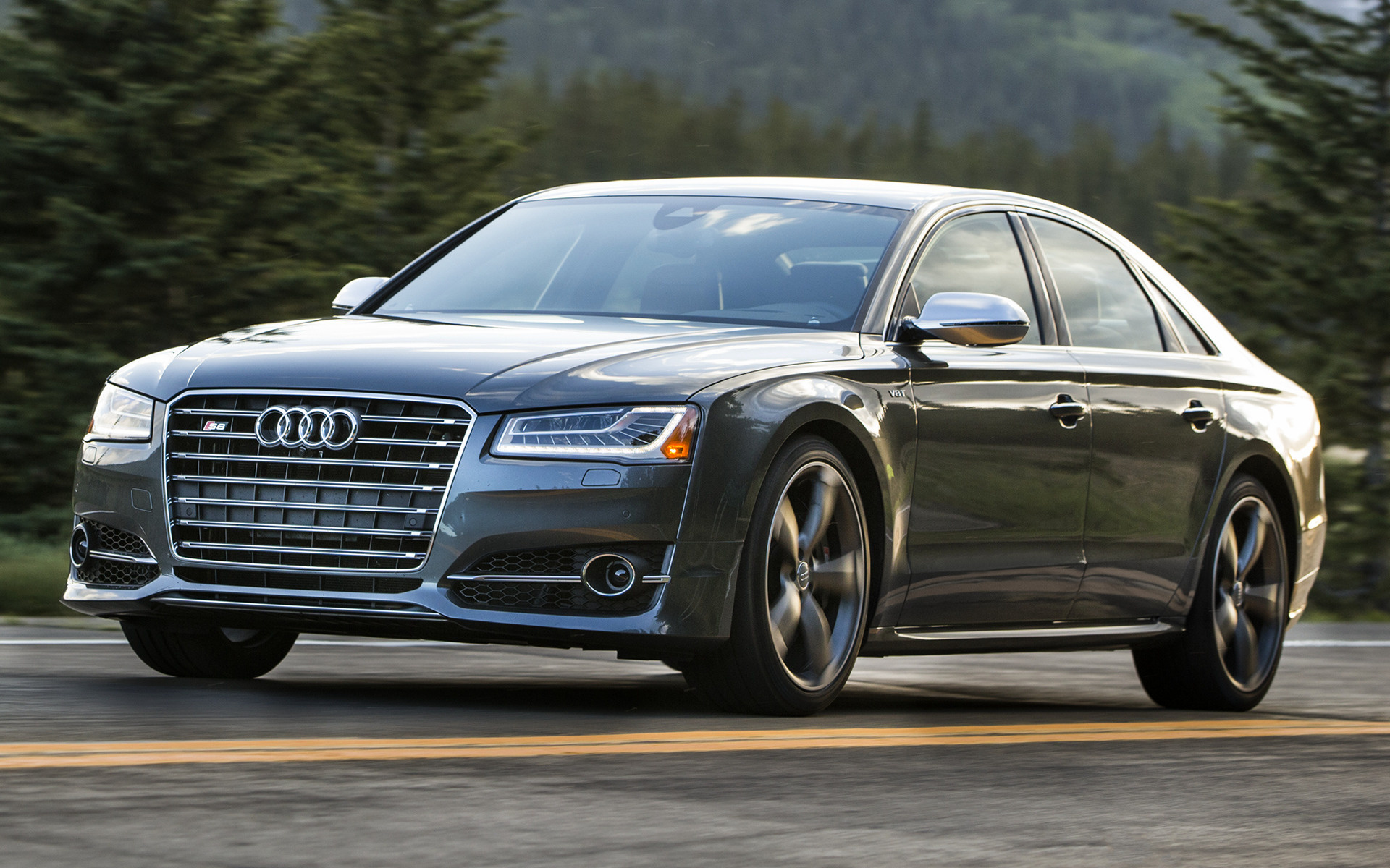 audi s8 2014 us wallpapers and hd images car pixel. Black Bedroom Furniture Sets. Home Design Ideas