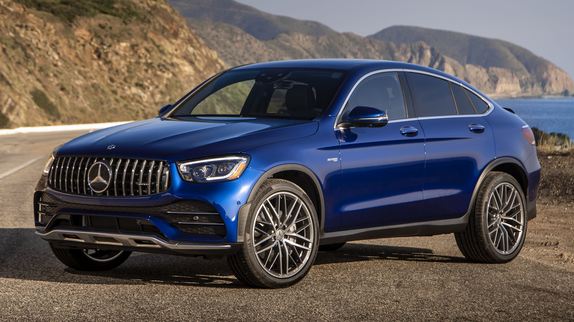 2020 Mercedes-AMG GLC 43 Coupe (US) - Wallpapers and HD Images | Car Pixel