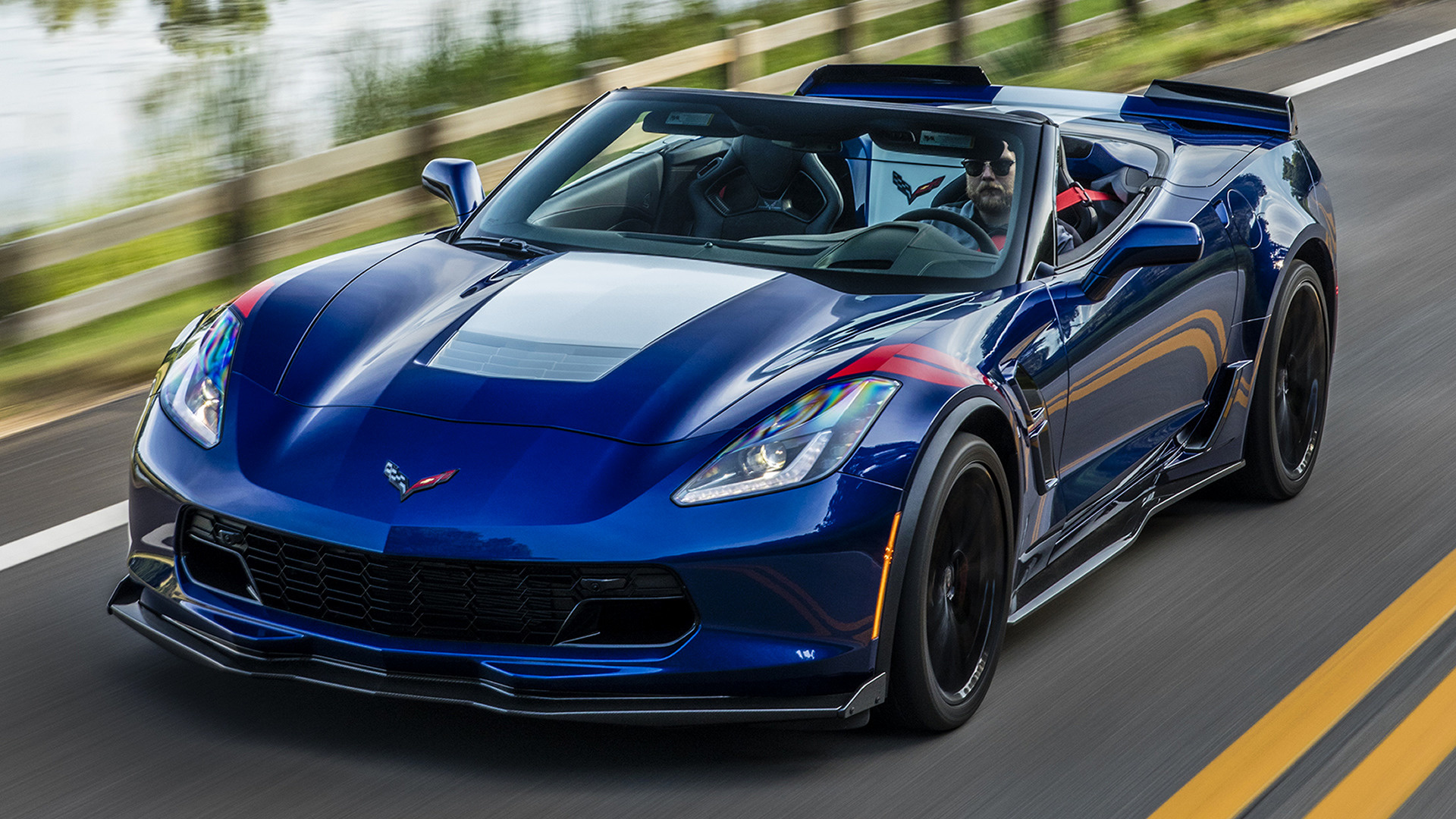 Corvette grand sport 2017 wallpapers and hd images car pixel - Chevrolet Corvette Grand Sport Convertible 2017