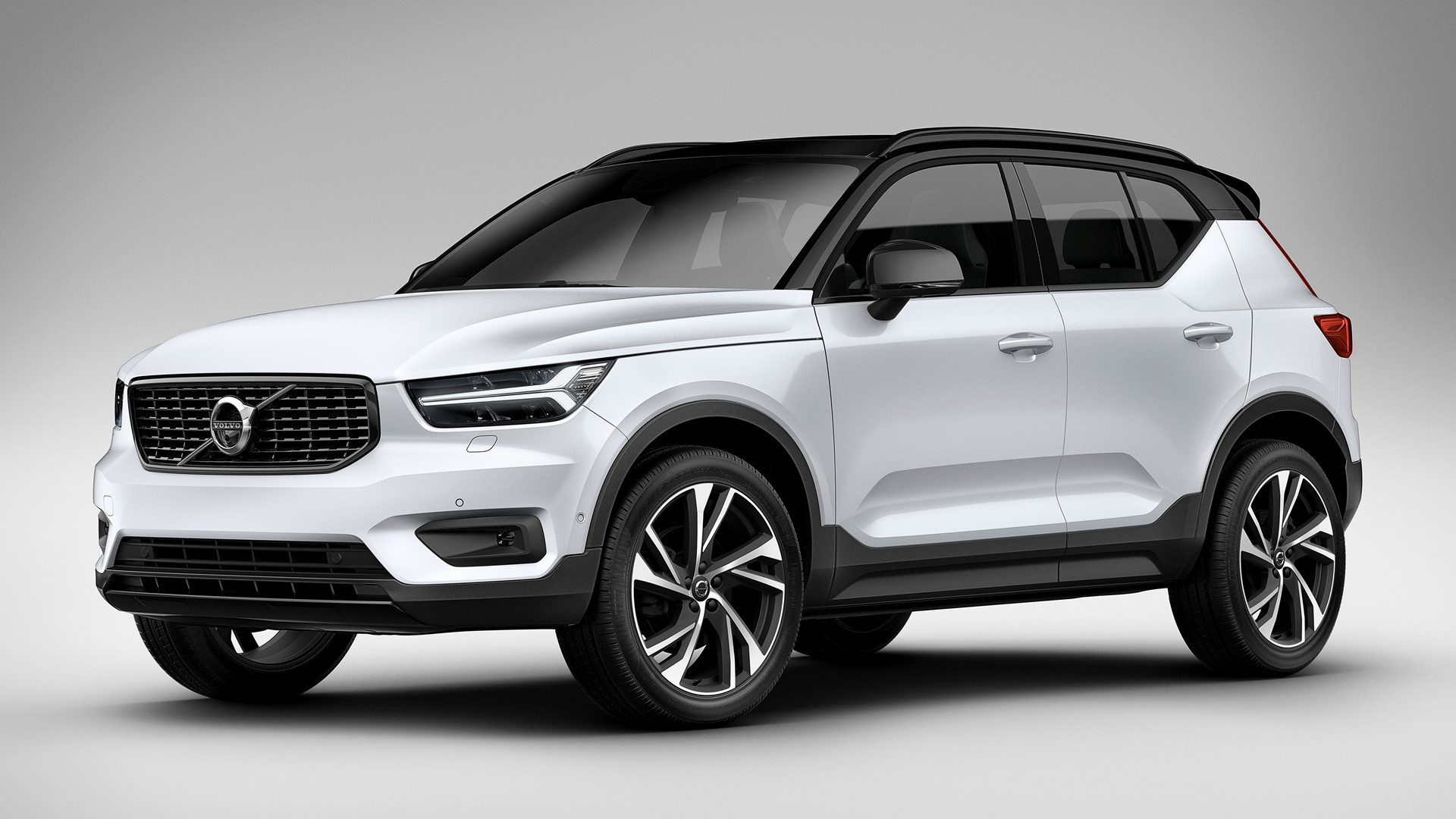 2017 volvo xc40 r design wallpapers and hd images car. Black Bedroom Furniture Sets. Home Design Ideas