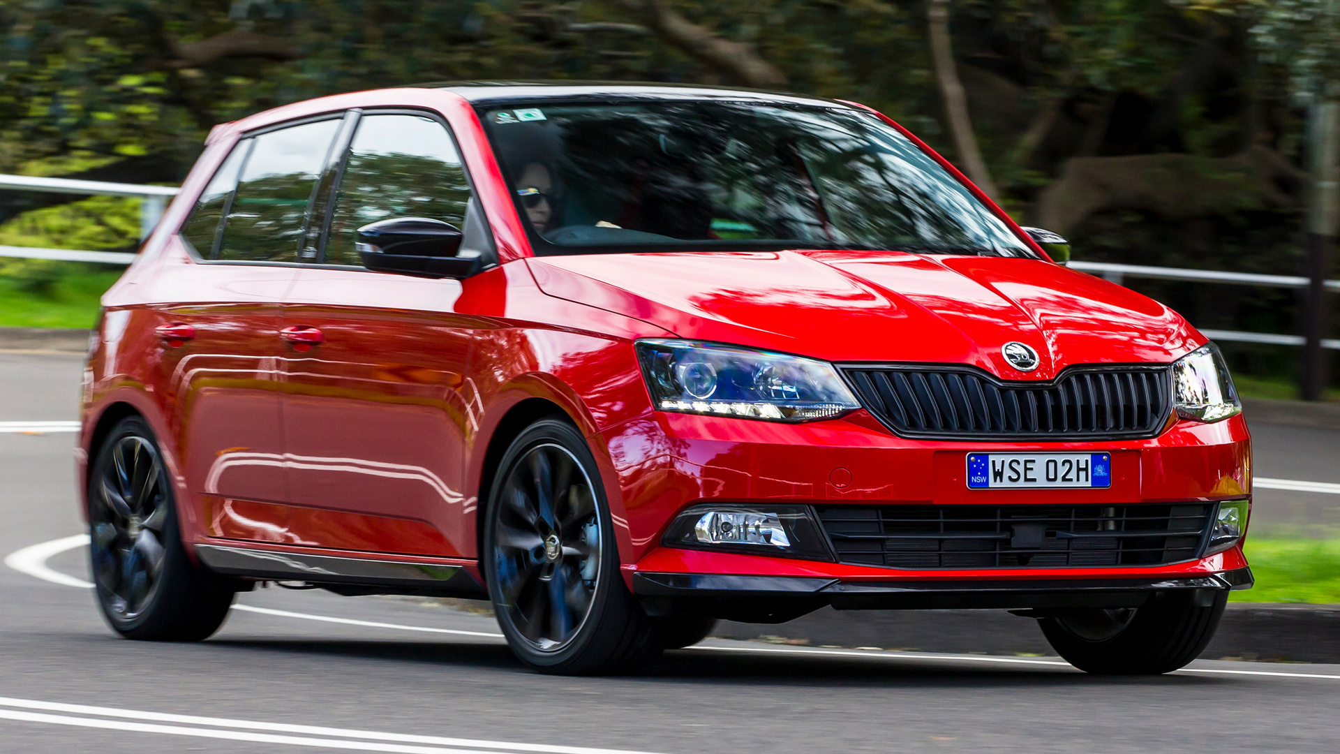skoda fabia monte carlo 2016 au wallpapers and hd images car pixel. Black Bedroom Furniture Sets. Home Design Ideas