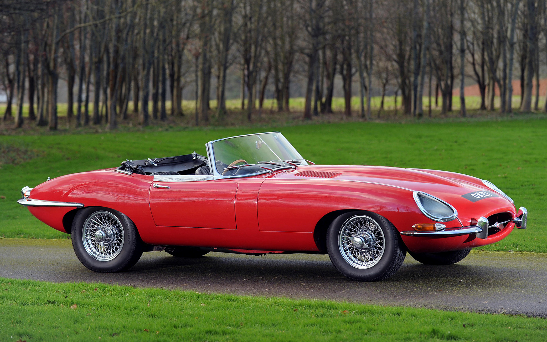 Jaguar F Type Coupe >> 1961 Jaguar E-Type Open Two-seater (UK) - Wallpapers and ...