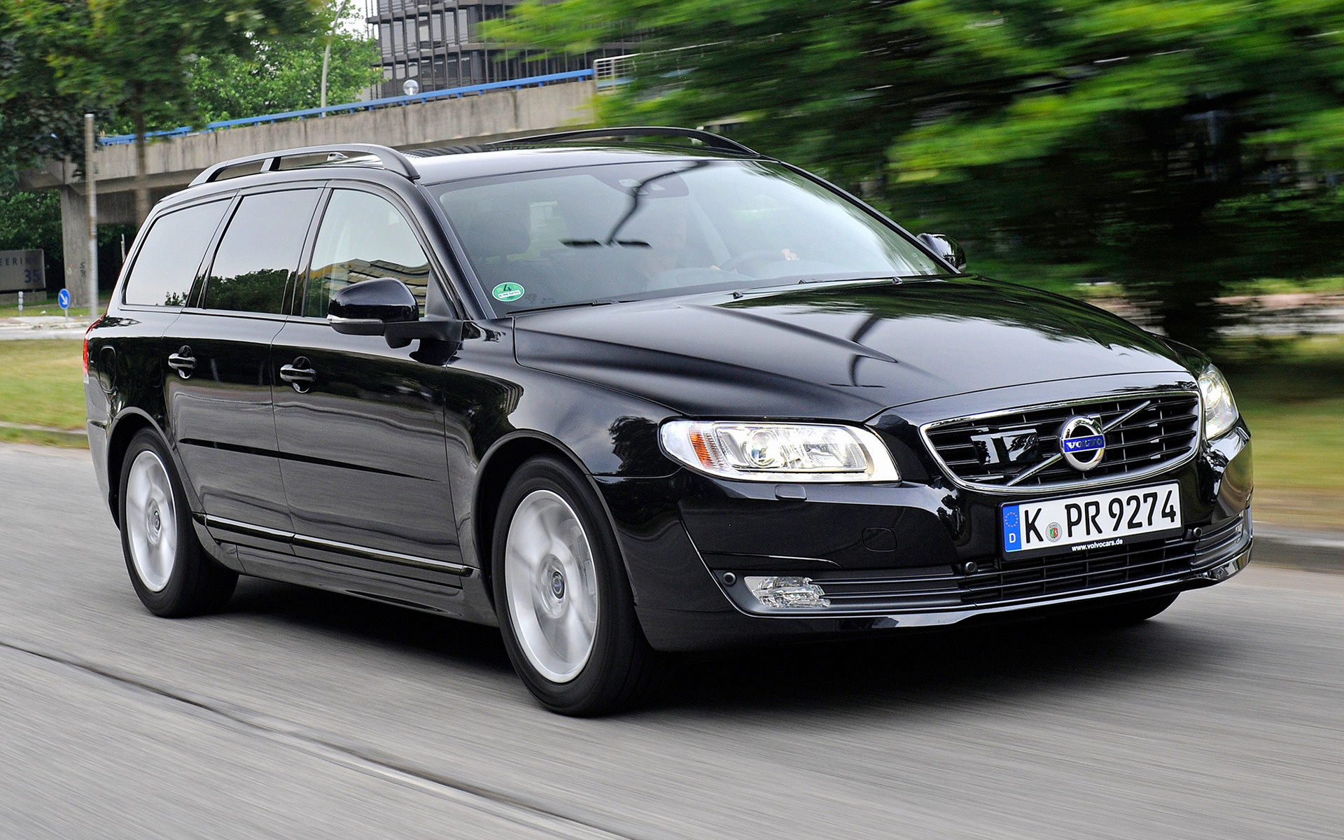 Volvo V70 Black 2014 Wallpapers And Hd Images Car Pixel