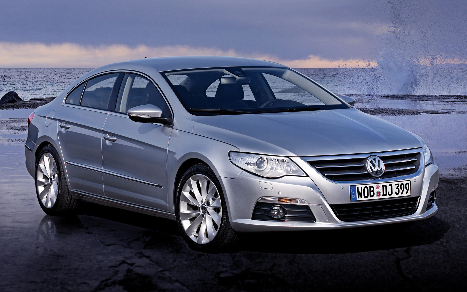 volkswagen passat cc 2008 wallpapers and hd images car pixel. Black Bedroom Furniture Sets. Home Design Ideas