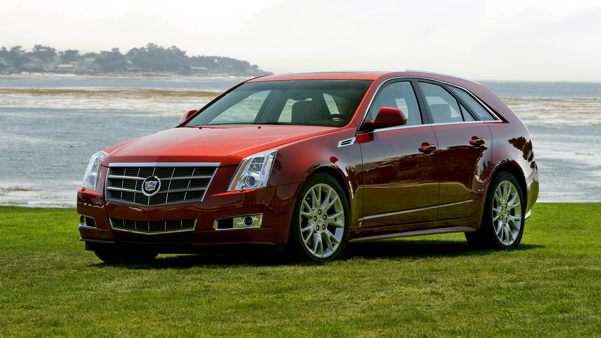 Cadillac Cts Sport Wagon 2009 Wallpapers And Hd Images