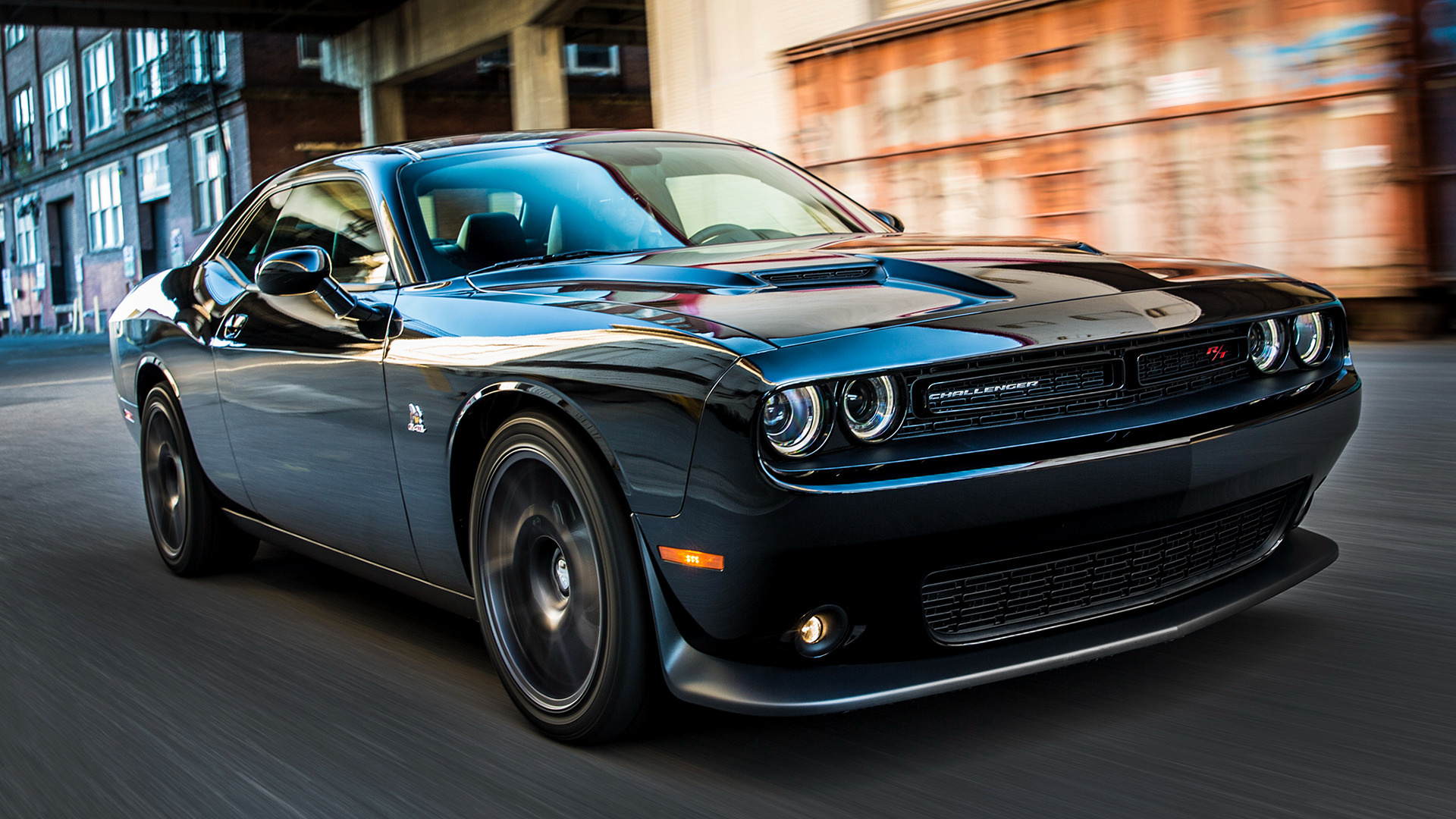 dodge challenger r t scat pack 2015 wallpapers and hd images car pixel. Black Bedroom Furniture Sets. Home Design Ideas