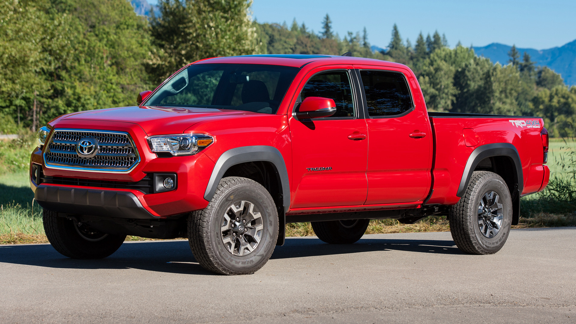 toyota tacoma trd off road double cab 2016 wallpapers and hd images. Black Bedroom Furniture Sets. Home Design Ideas