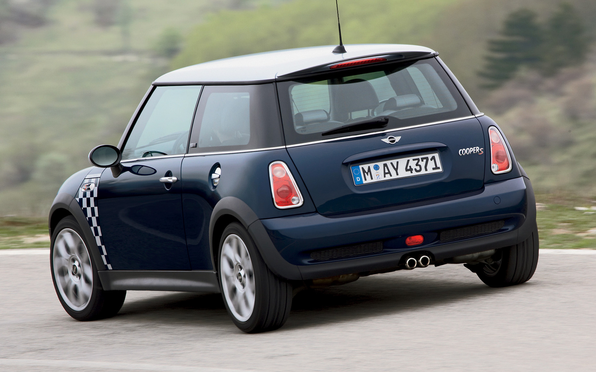 BMW Mini Cooper >> 2005 Mini Cooper S Checkmate - Wallpapers and HD Images ...