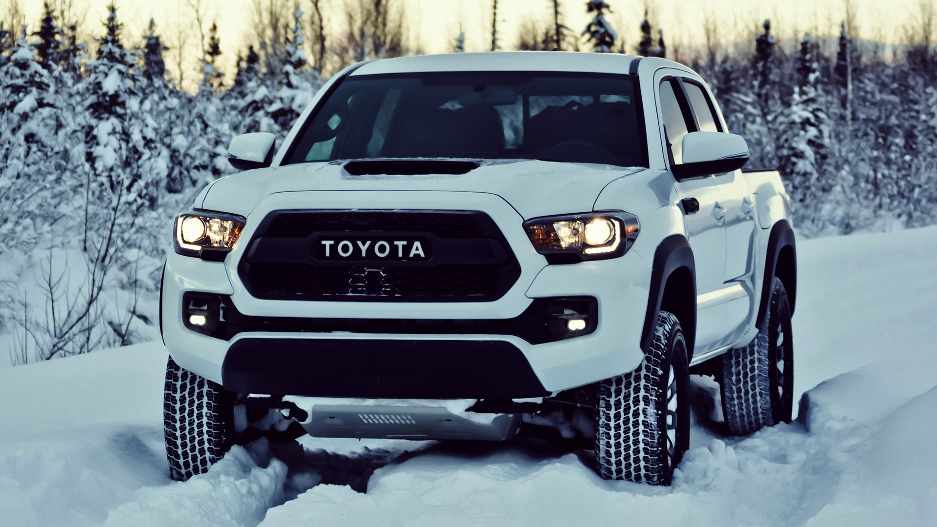 Toyota Tacoma Trd Pro Double Cab 2017 Wallpapers And Hd