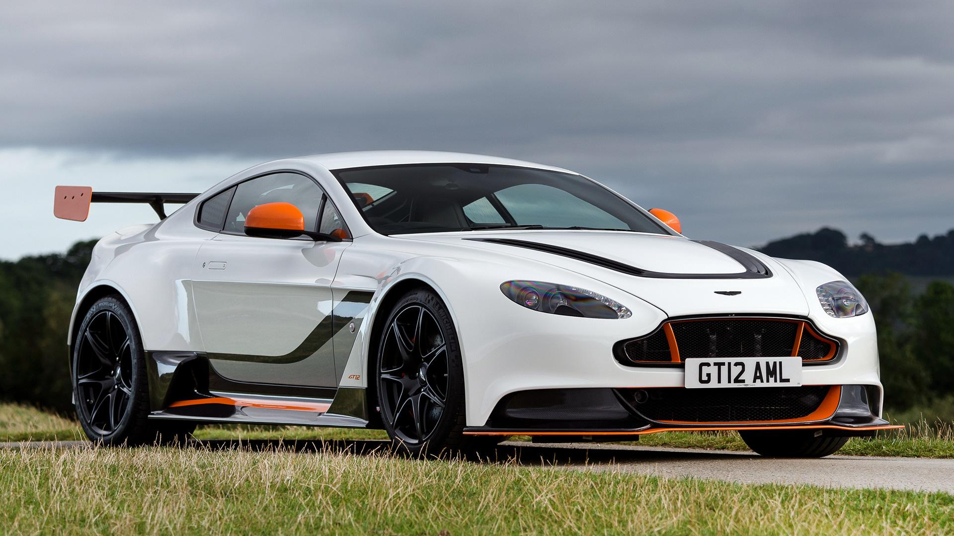 Aston Martin Vantage GT12 (2015) UK Wallpapers and HD ...