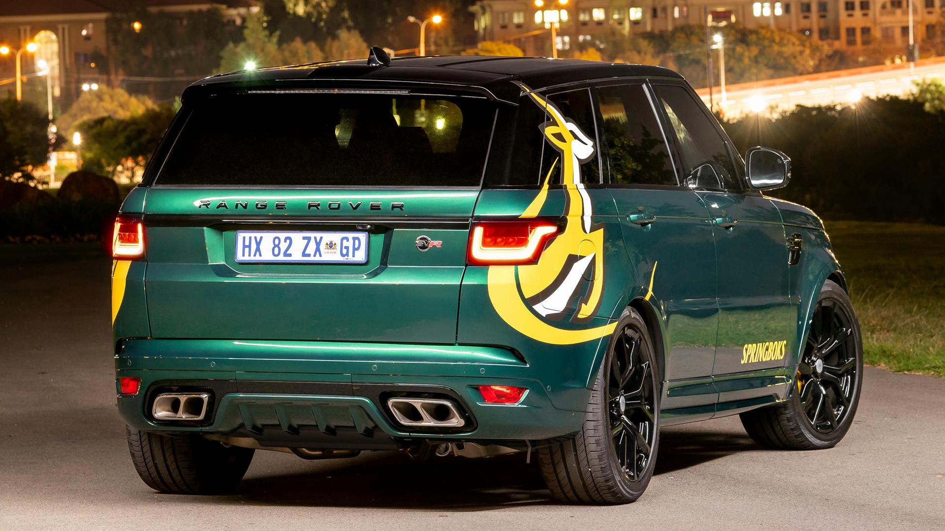 2019 Range Rover Sport Svr Springboks Edition By Svo Za