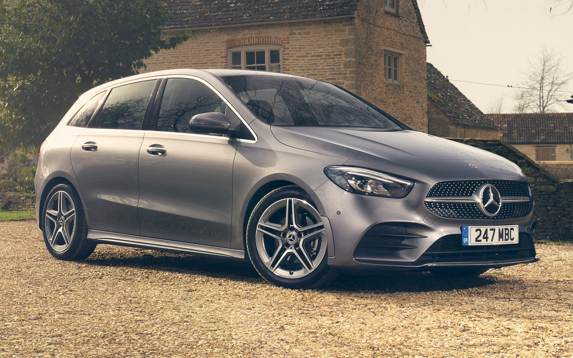 2019 Mercedes-Benz B-Class AMG Line (UK) - Wallpapers and ...