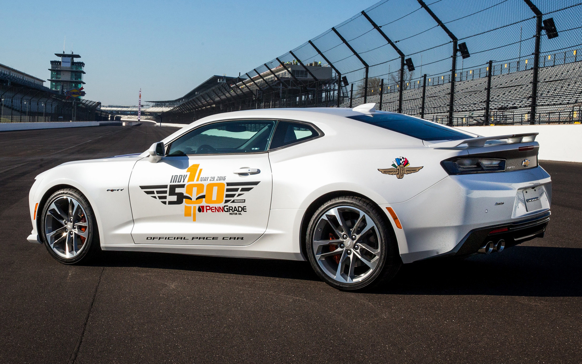 Chevrolet Camaro SS Indy 500 Pace Car 2016 Wallpapers