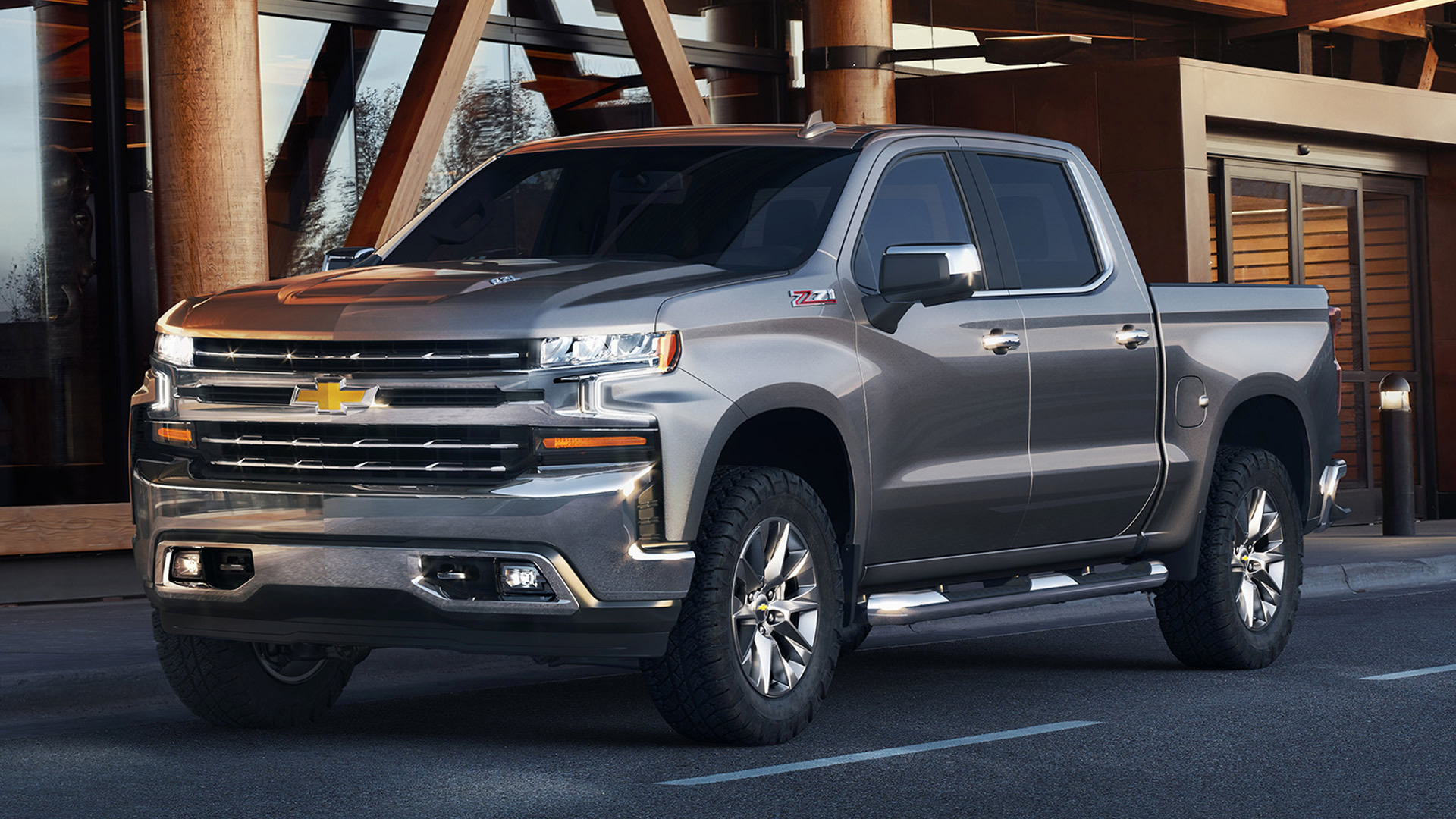 Chevrolet Silverado Z71 Crew Cab (2019) Wallpapers and HD ...