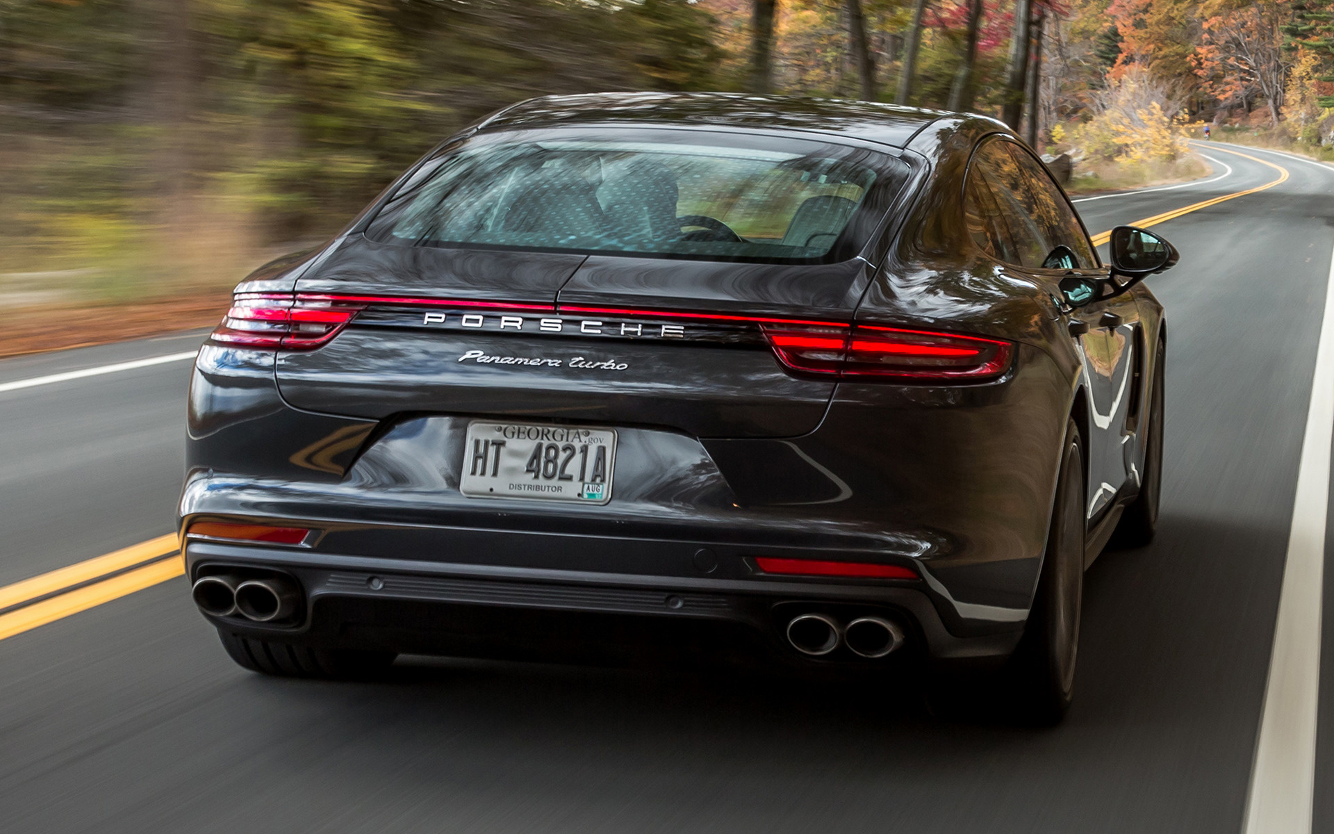 Porsche Panamera Turbo 2017 US Wallpapers And HD Images