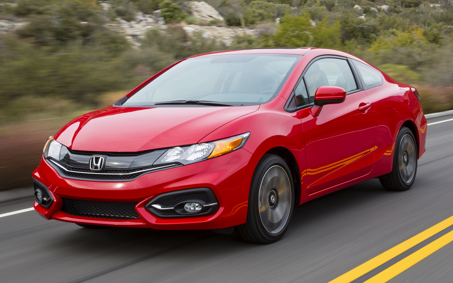 2014 Honda Civic Coupe - Wallpapers and HD Images | Car Pixel