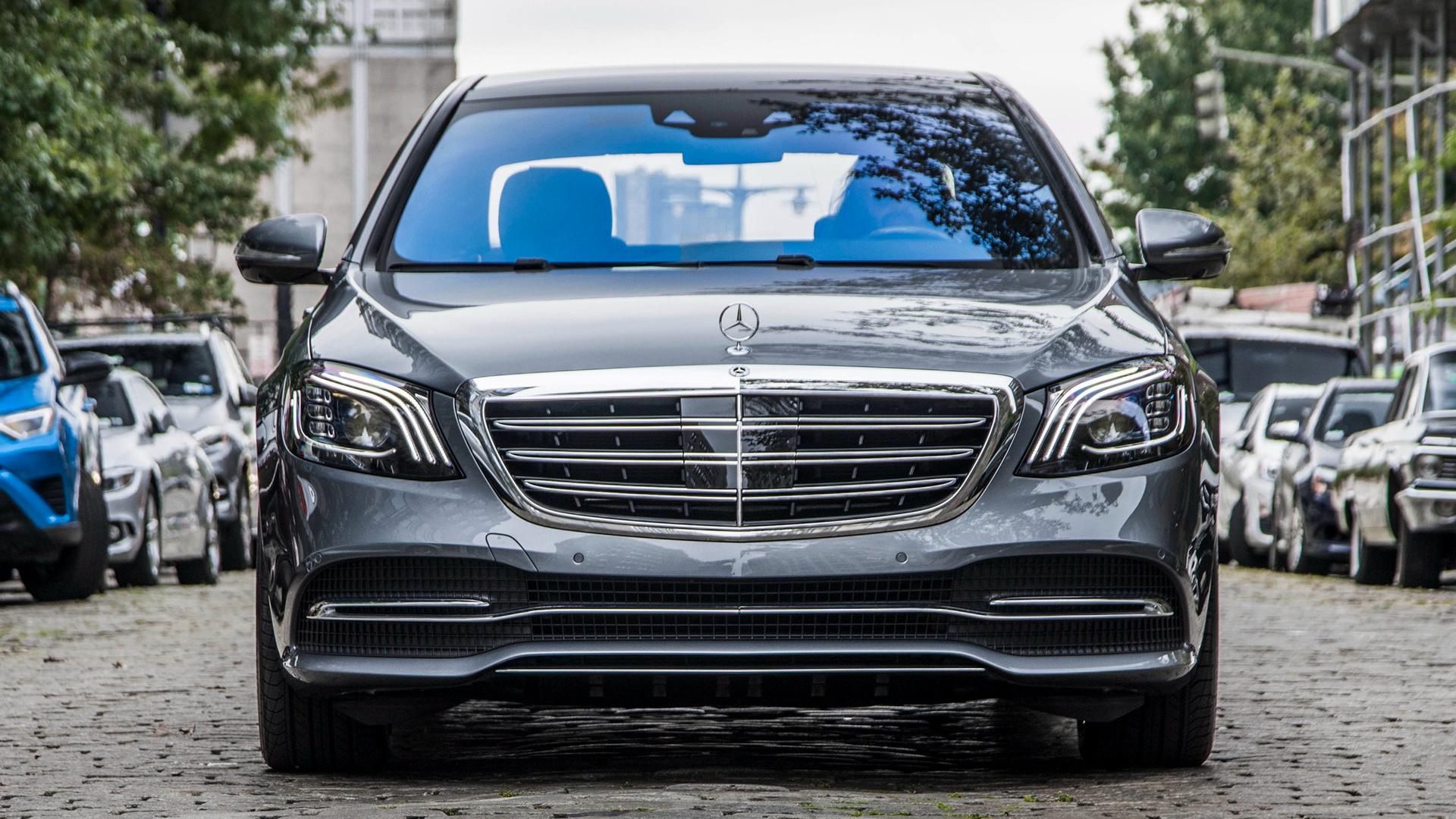 2018 Mercedes Benz S Class Long Us Fondos De Pantalla